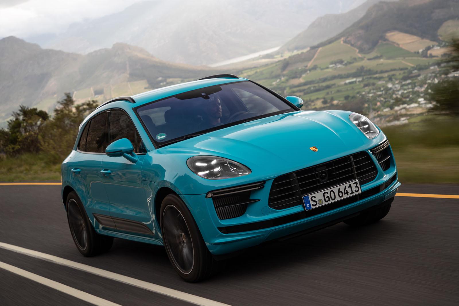 2020 Porsche Macan Turbo Ratings