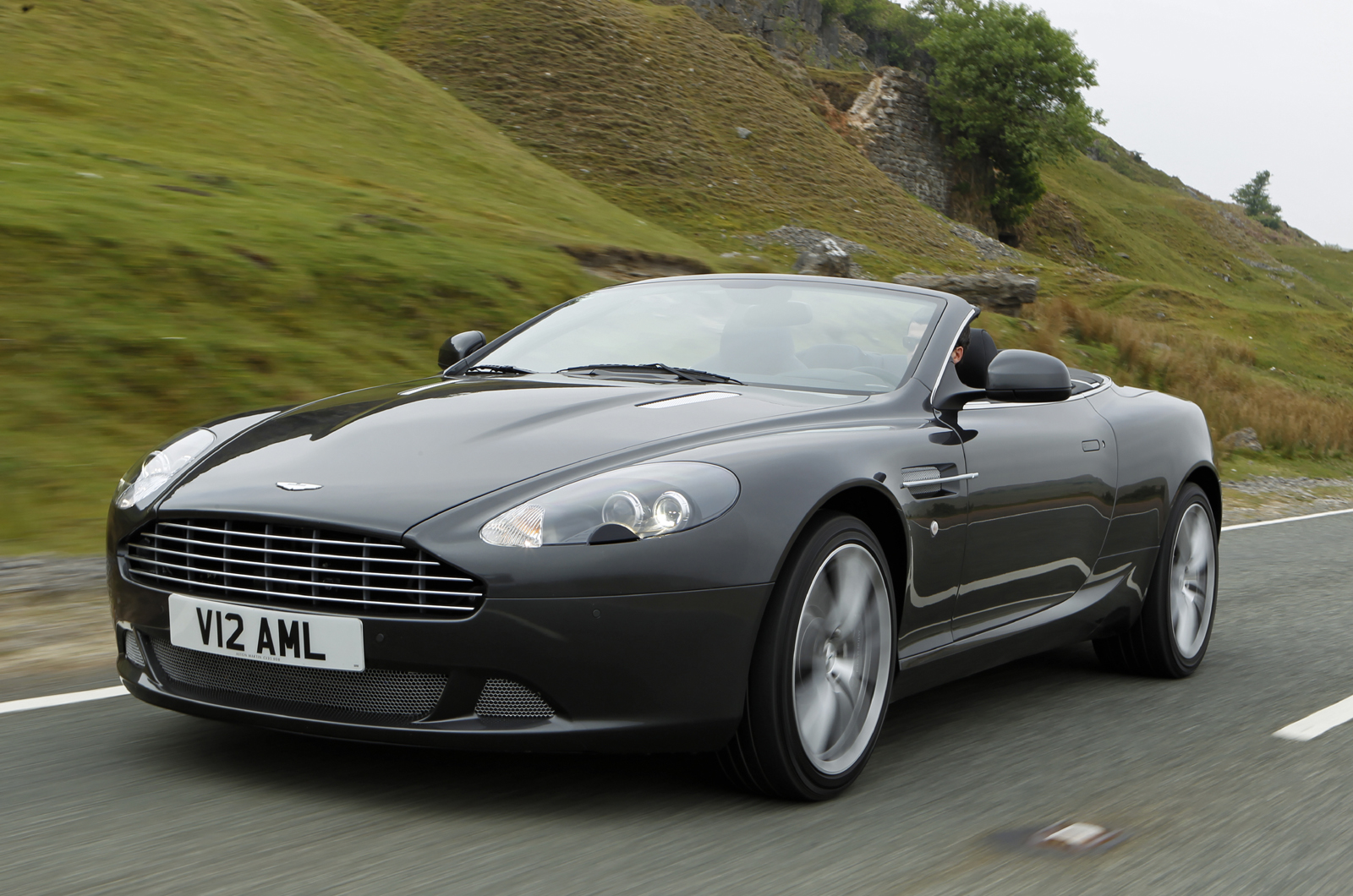 aston martin db9 volante touchtronic review | autocar