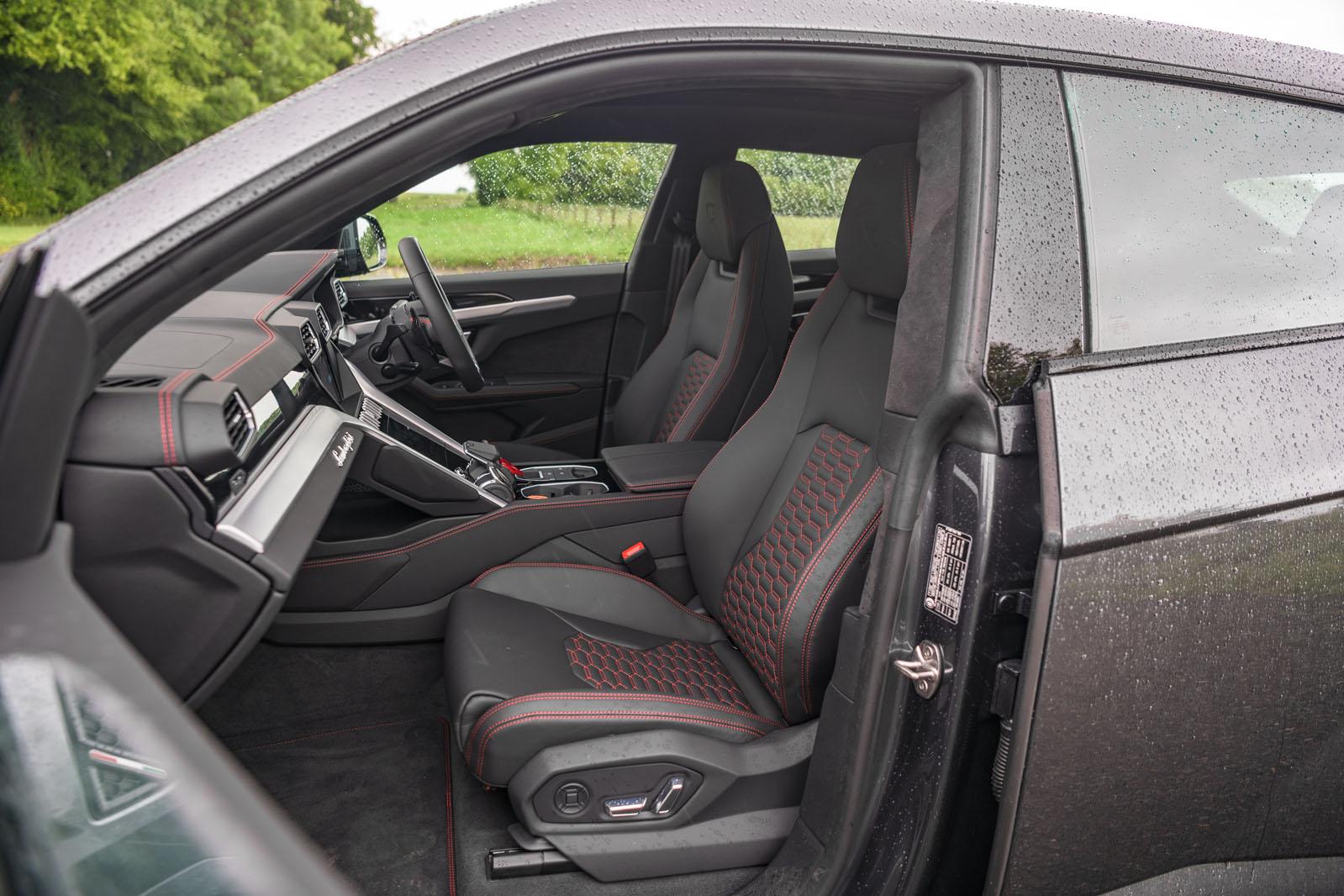 Lamborghini Urus Interior Autocar