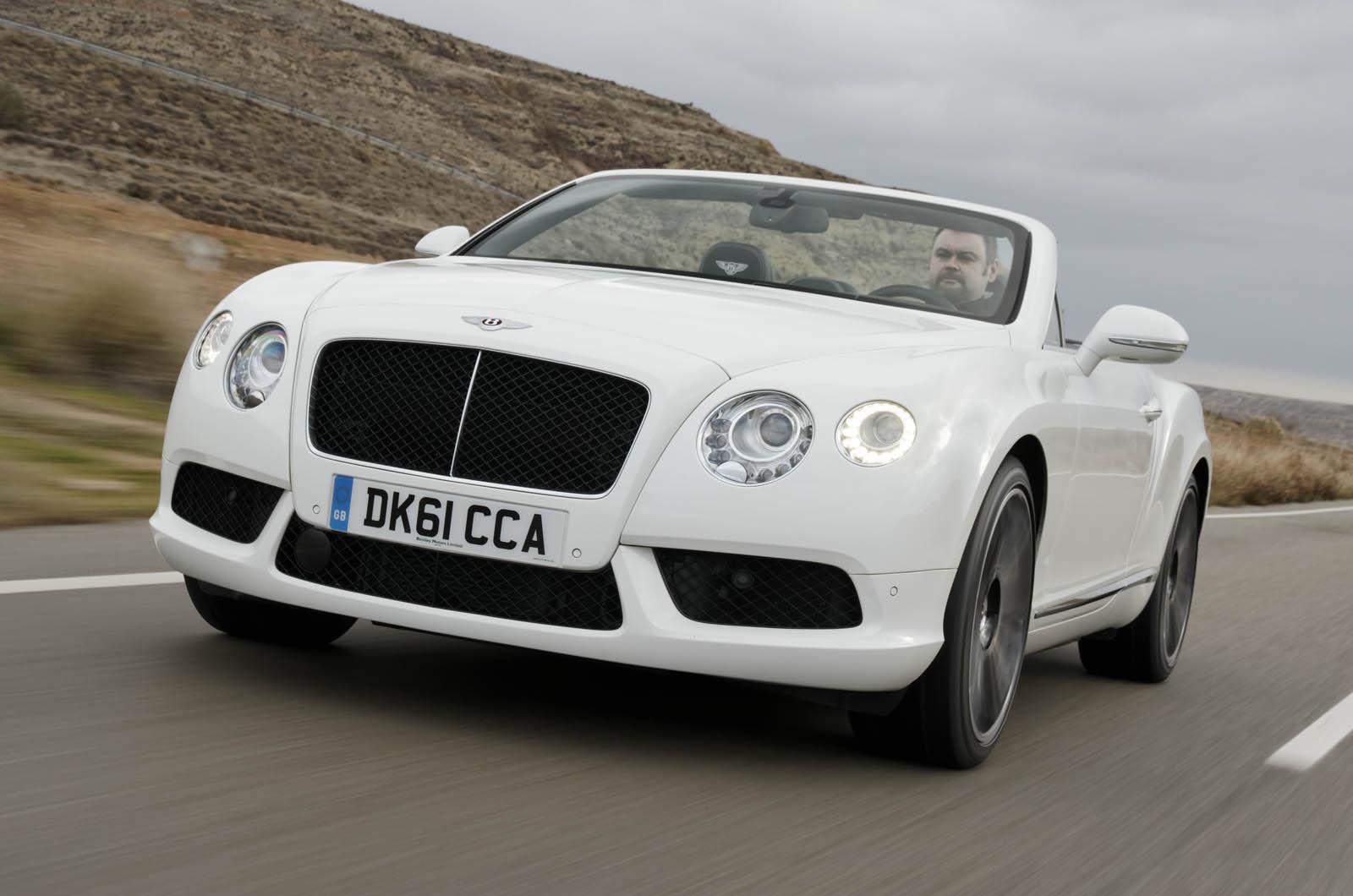 Bentley Continental Gtc V8 First Uk Drive