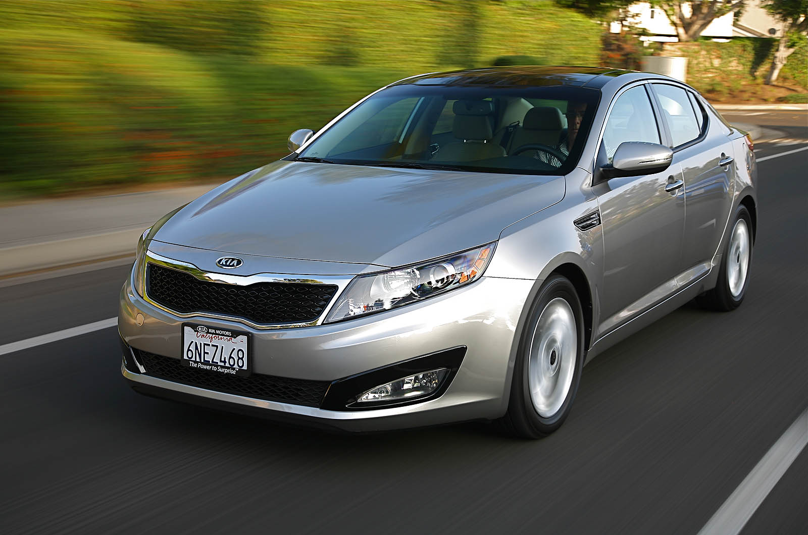 The Kia Optima is designed by ex-Audi design chief, Peter Schreyer