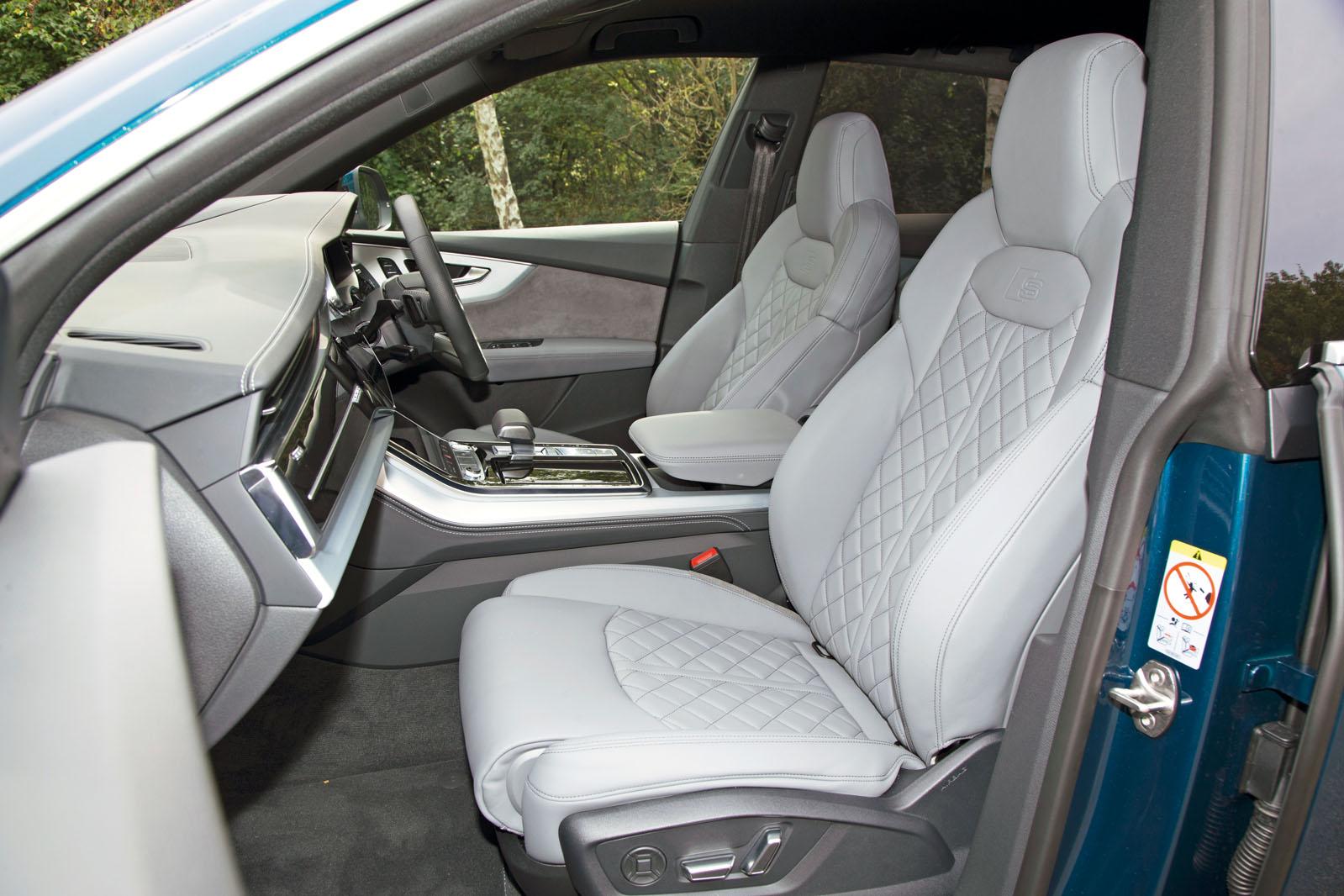 Audi Q8 Interior Autocar
