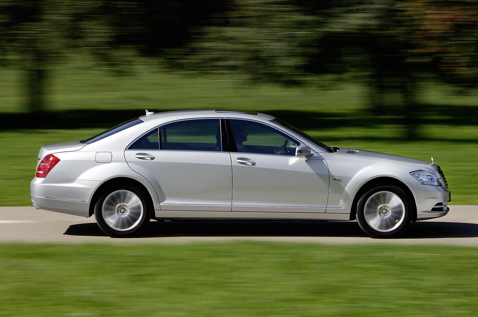 Mercedes s250 cdi autocar for Mercedes benz s250