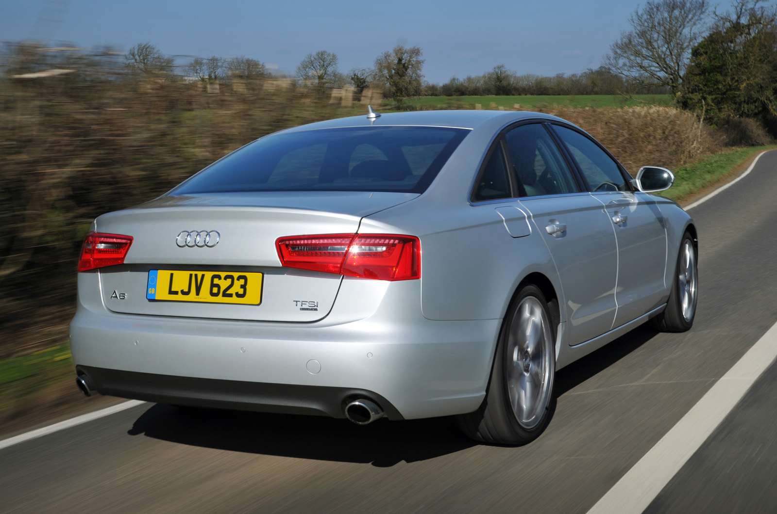 audi a6 3 0 tdi quattro first uk drive. Black Bedroom Furniture Sets. Home Design Ideas