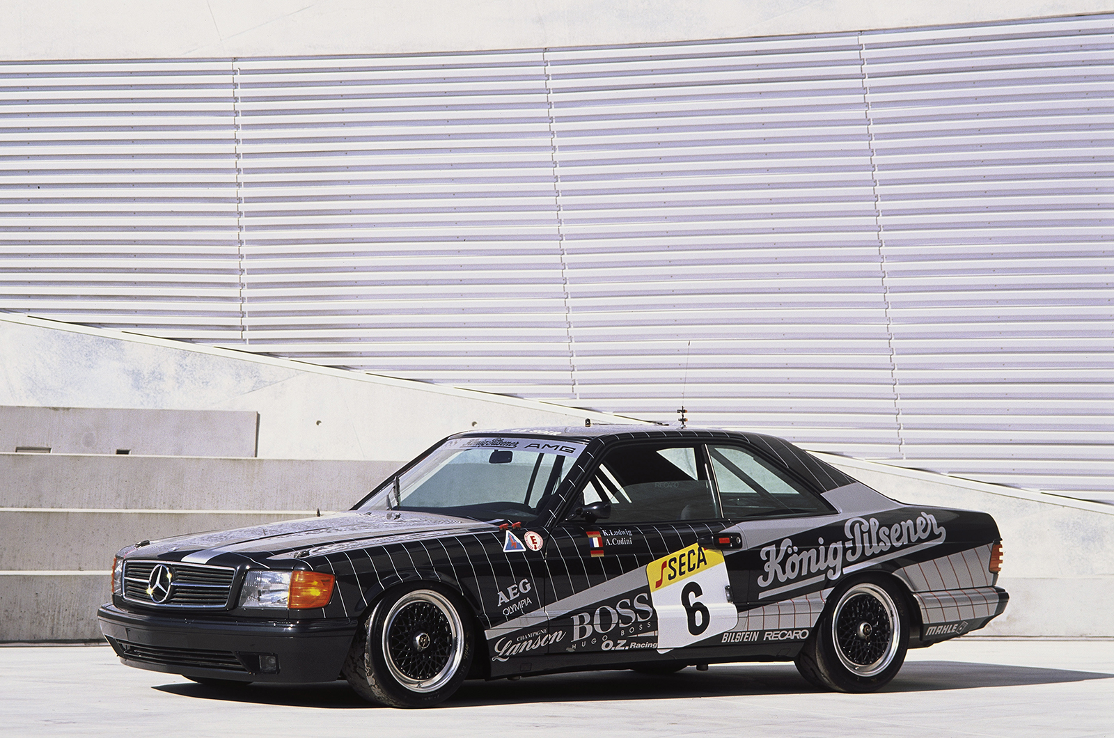 The history of amg picture special for Mercedes benz company history