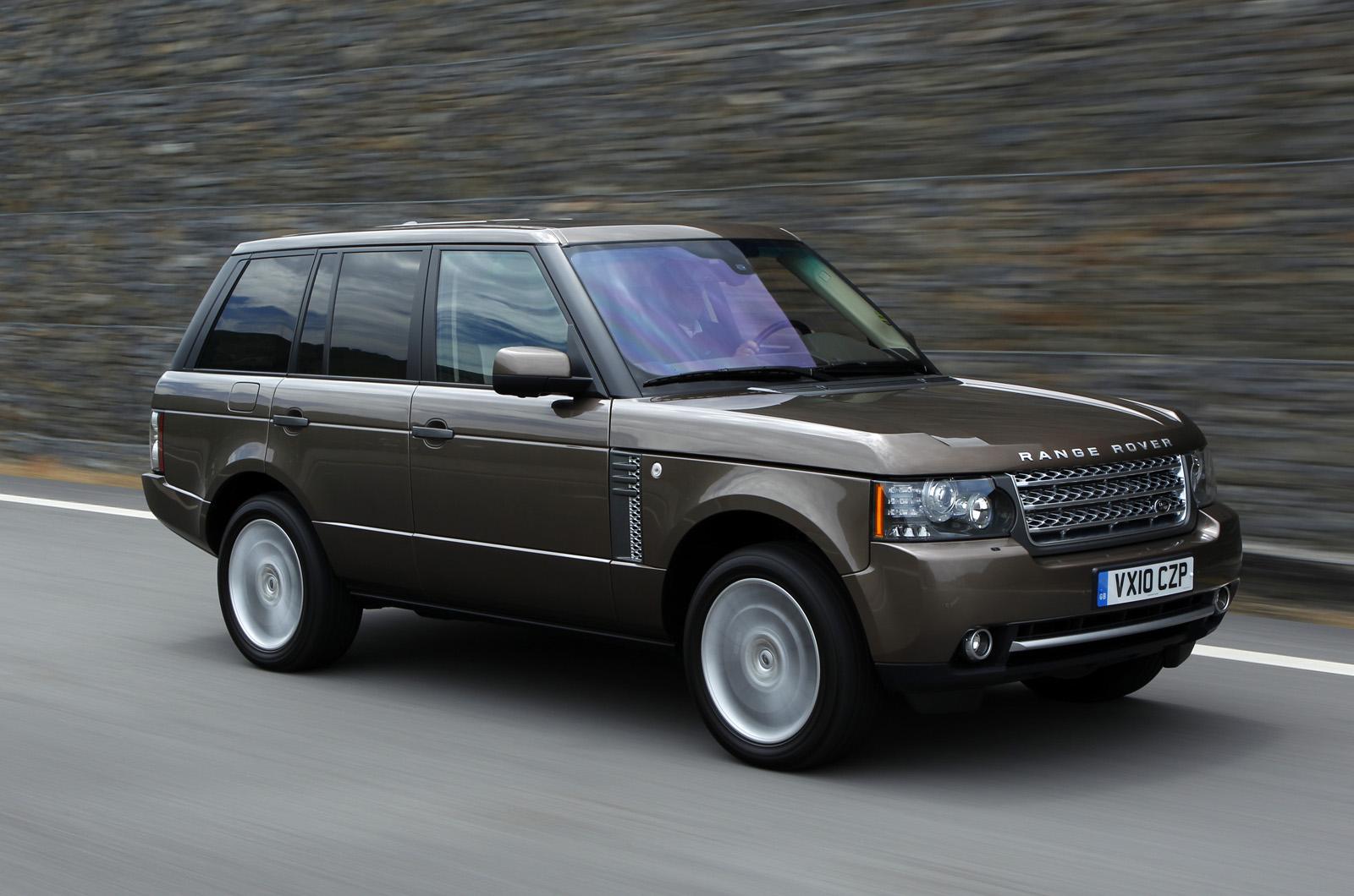 range rover 4 4 tdv8 2011 first drive. Black Bedroom Furniture Sets. Home Design Ideas