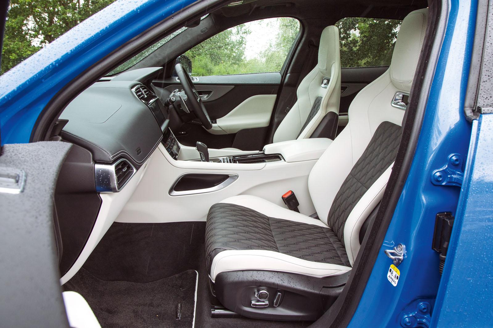 Jaguar F Pace Svr Interior Autocar