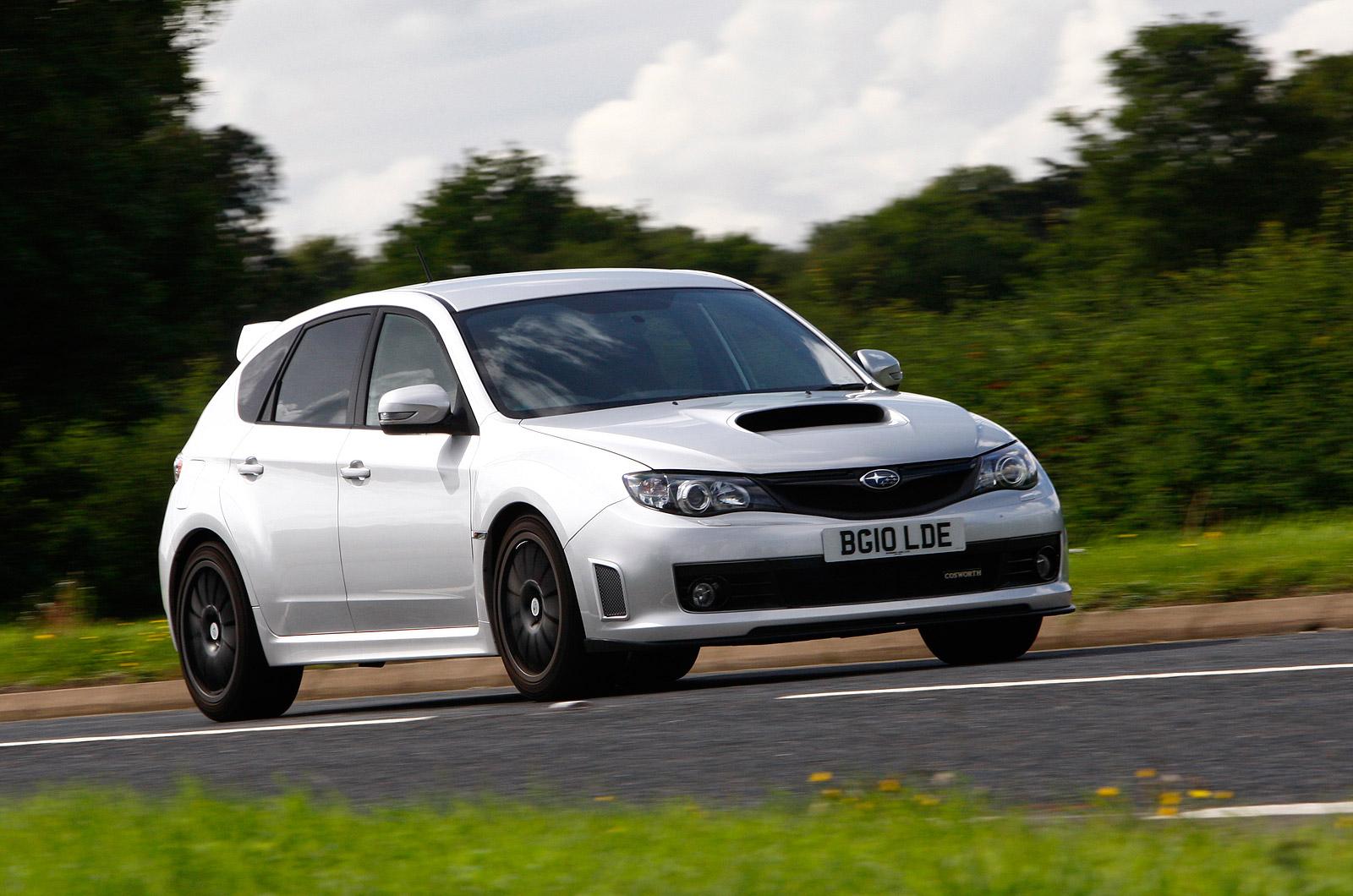 Cosworth impreza sti cs400 review autocar vanachro Choice Image