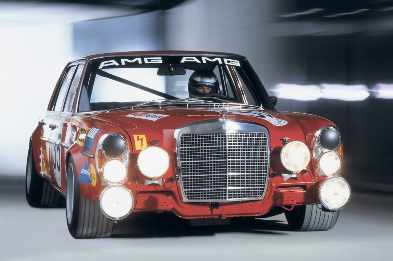 The history of mercedes benz amg picture special for Mercedes benz name origin