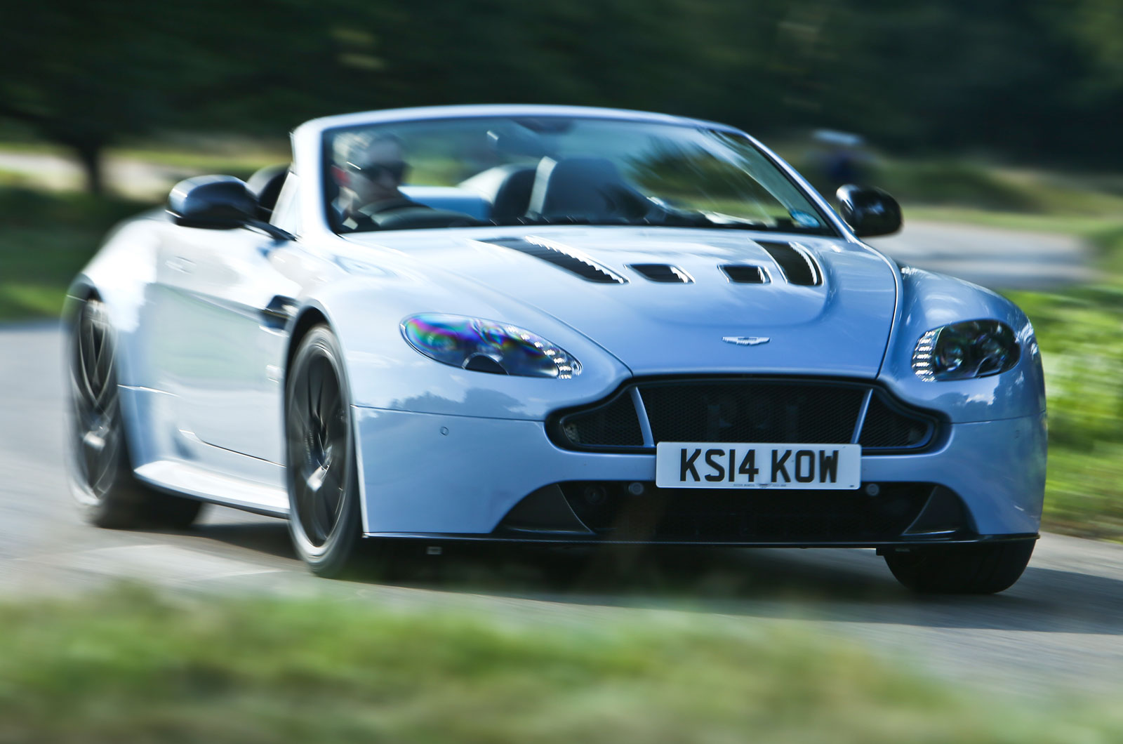 Aston Martin V12 Vantage S Roadster Uk First Drive