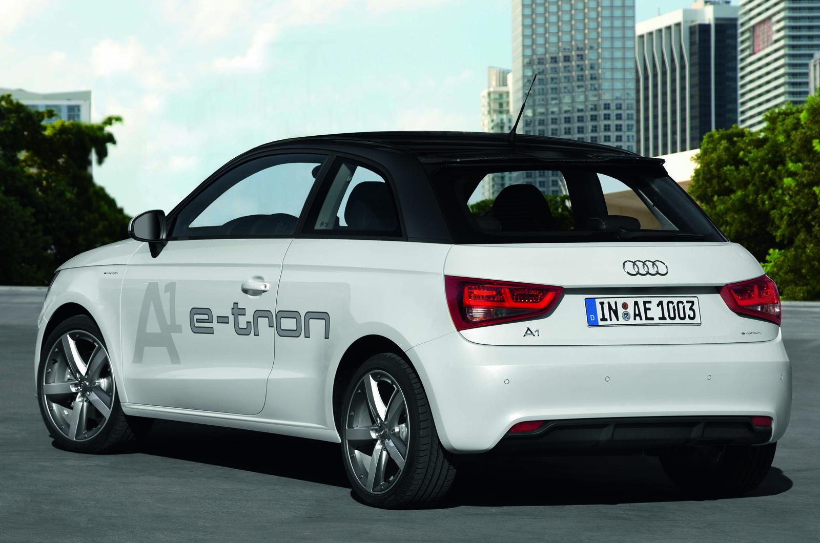 first drive review audi a1 e tron dual mode hybrid review autocar. Black Bedroom Furniture Sets. Home Design Ideas
