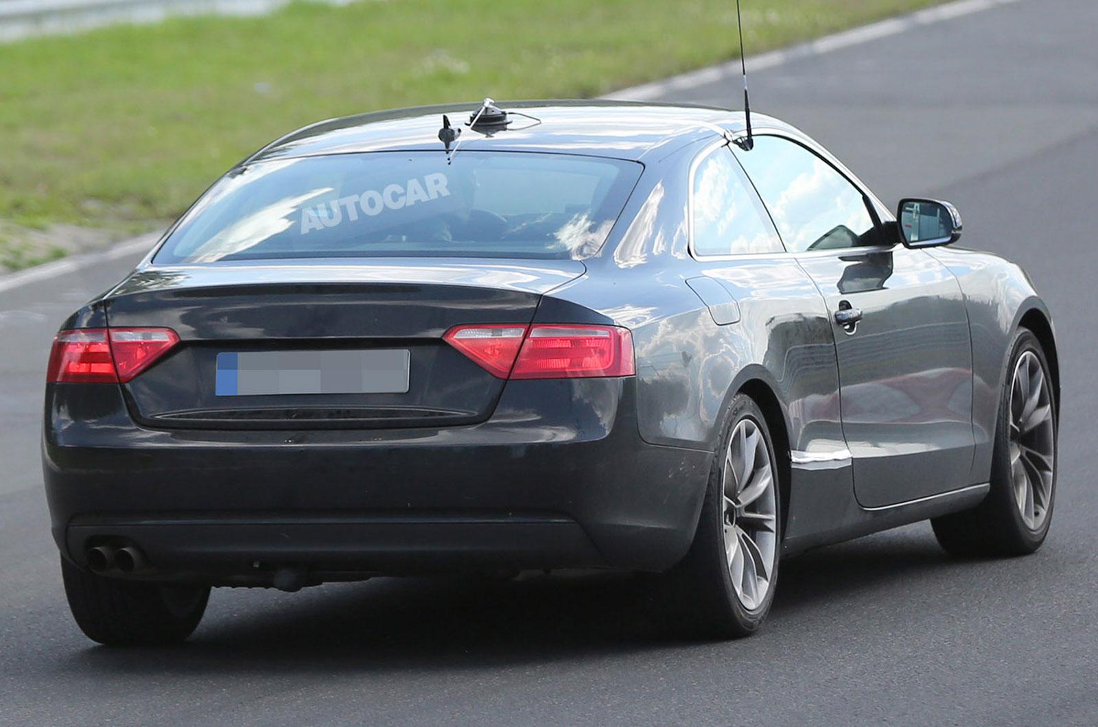Дорожные испытания Audi A5 Coupe II. 2014 год