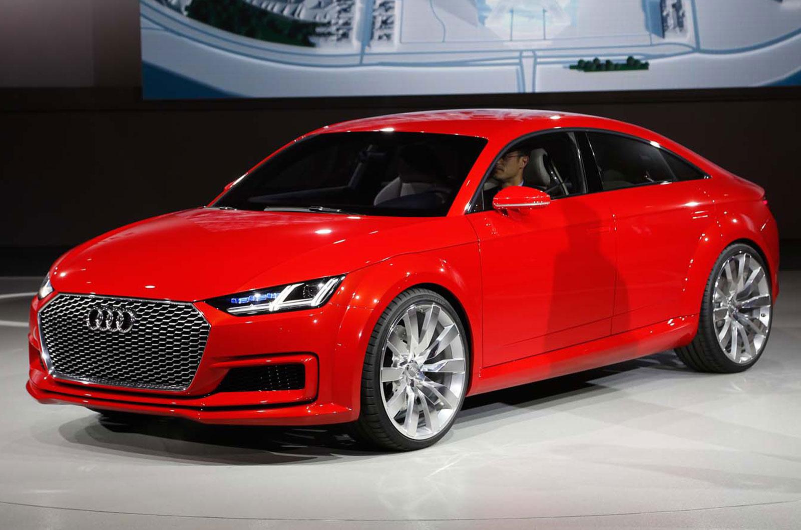 Audi Reveals Stretched Tt Sportback Concept Autocar