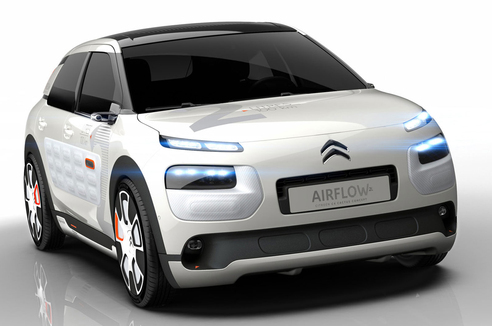 citro n 39 s c4 cactus airflow 2l concept uses aerodynamics weight reduction and a. Black Bedroom Furniture Sets. Home Design Ideas