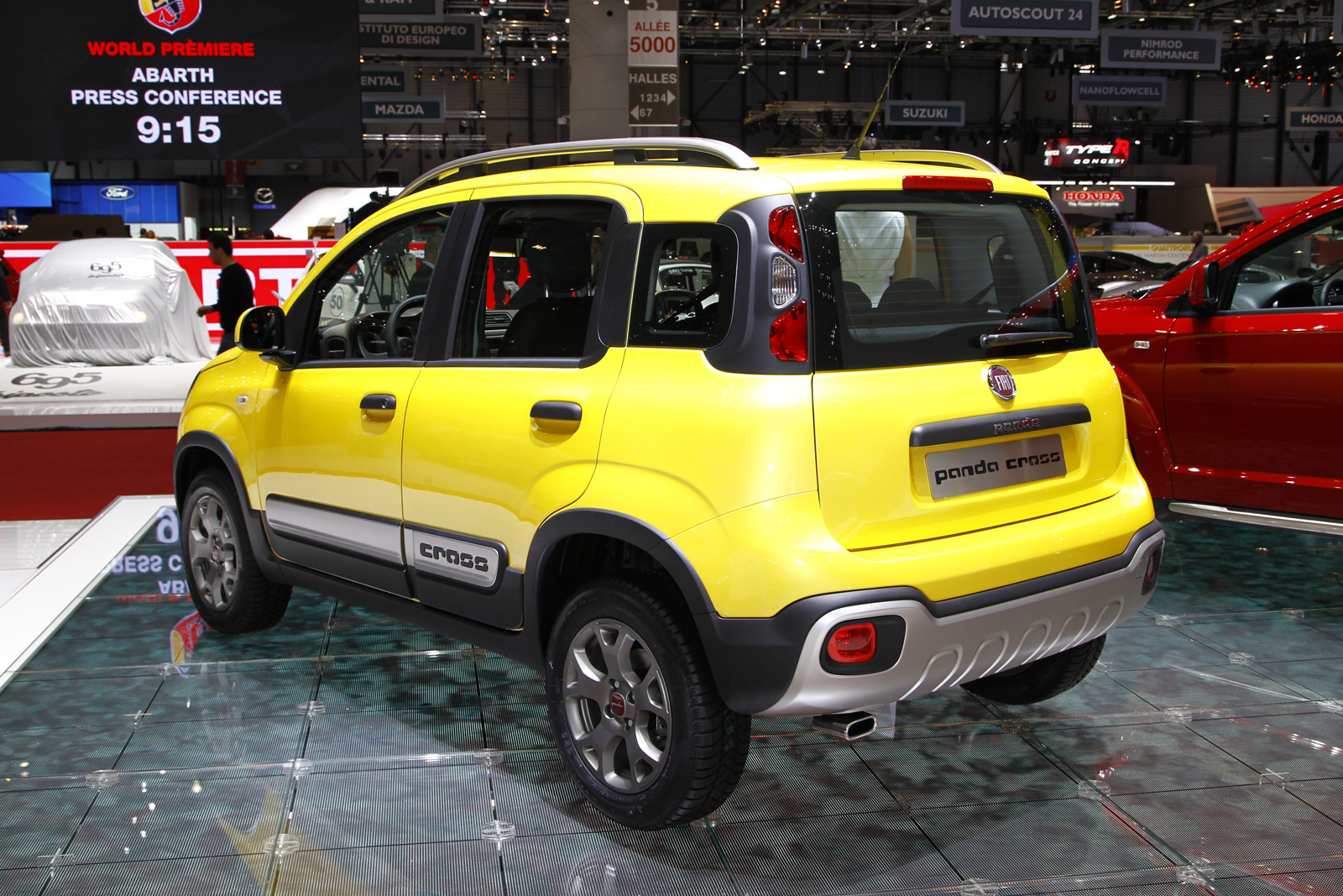 new fiat panda cross on sale this autumn autocar. Black Bedroom Furniture Sets. Home Design Ideas