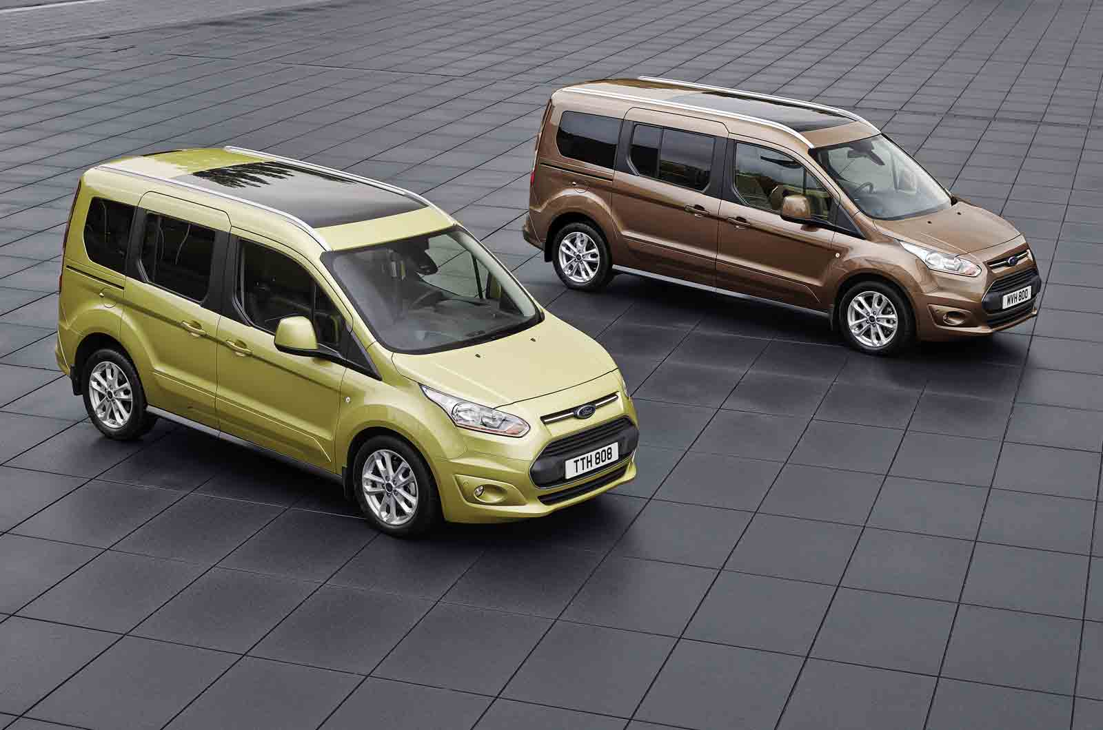 Ford Tourneo Connect Review 2018
