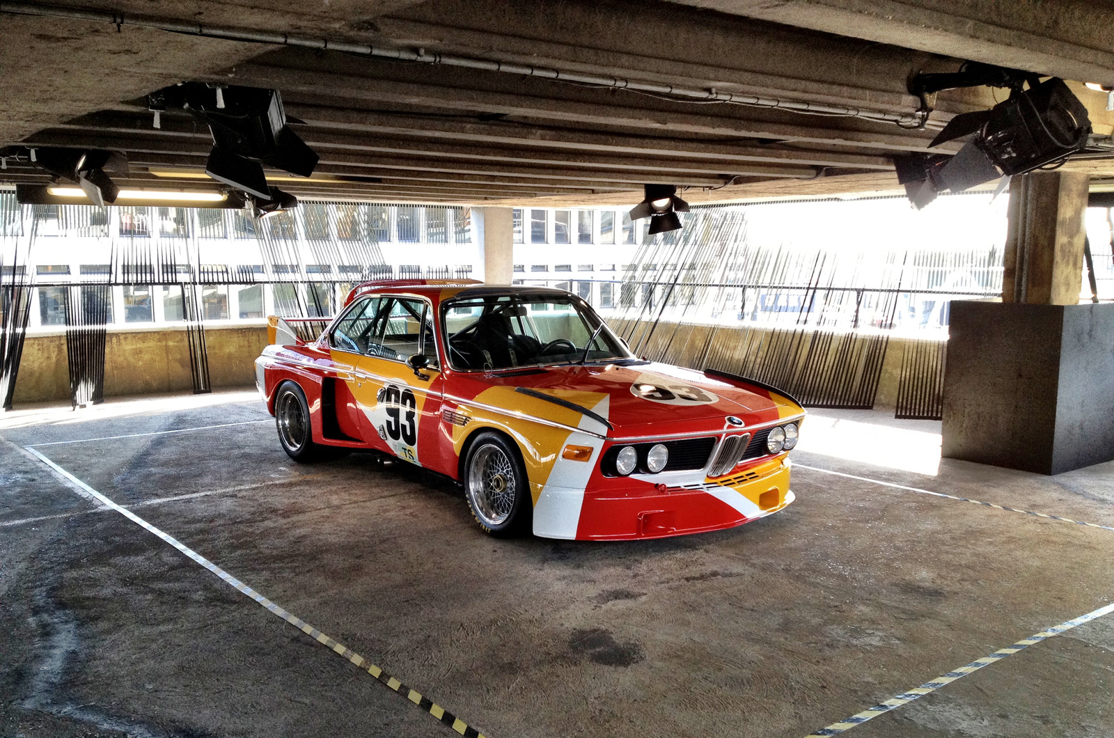 BMW's art car collection is well worth a visit