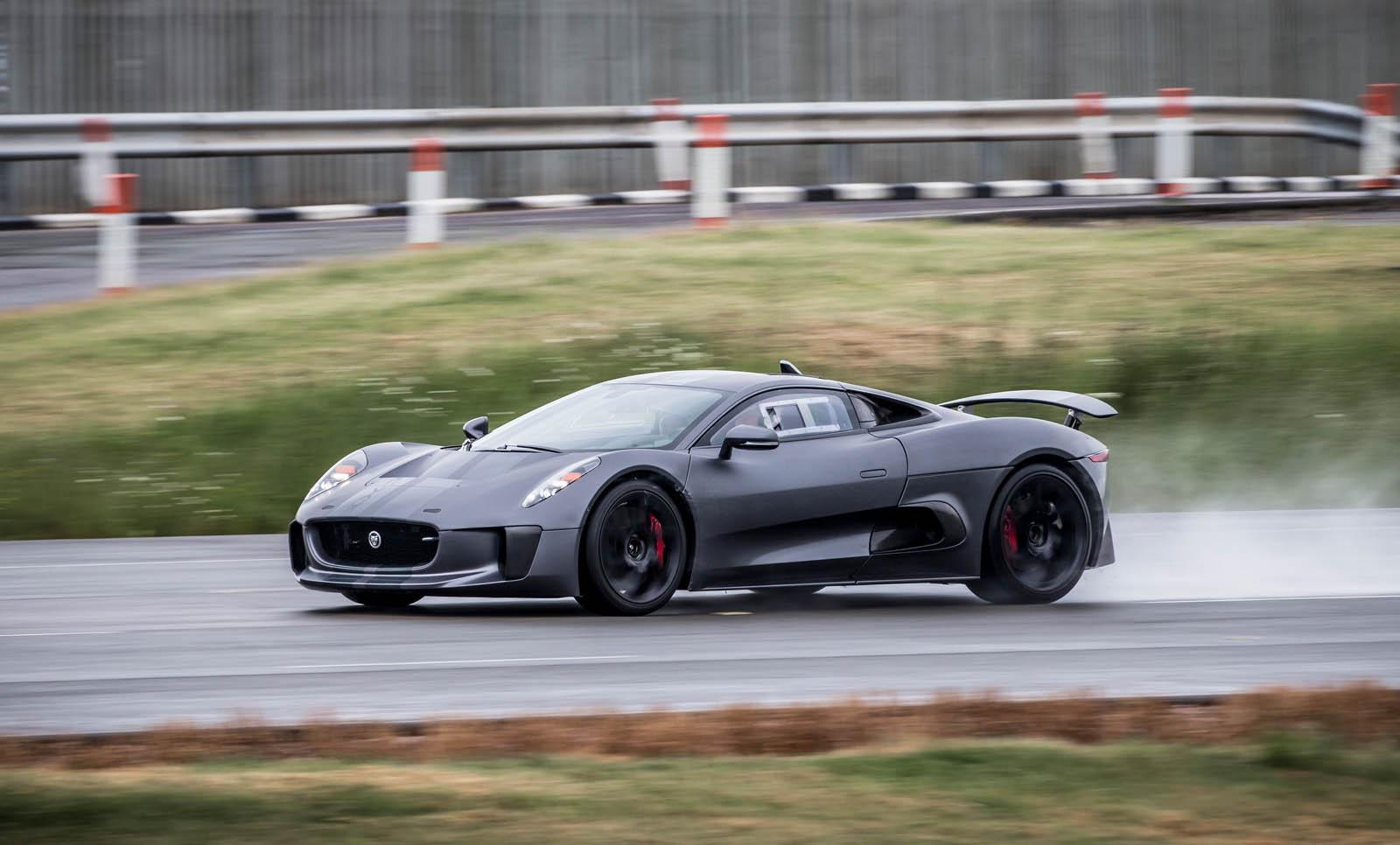 Jaguar C X on 4 Seater Drift Car