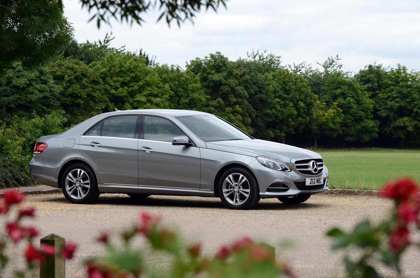 Mercedes benz revises e class model range for Mercedes benz range