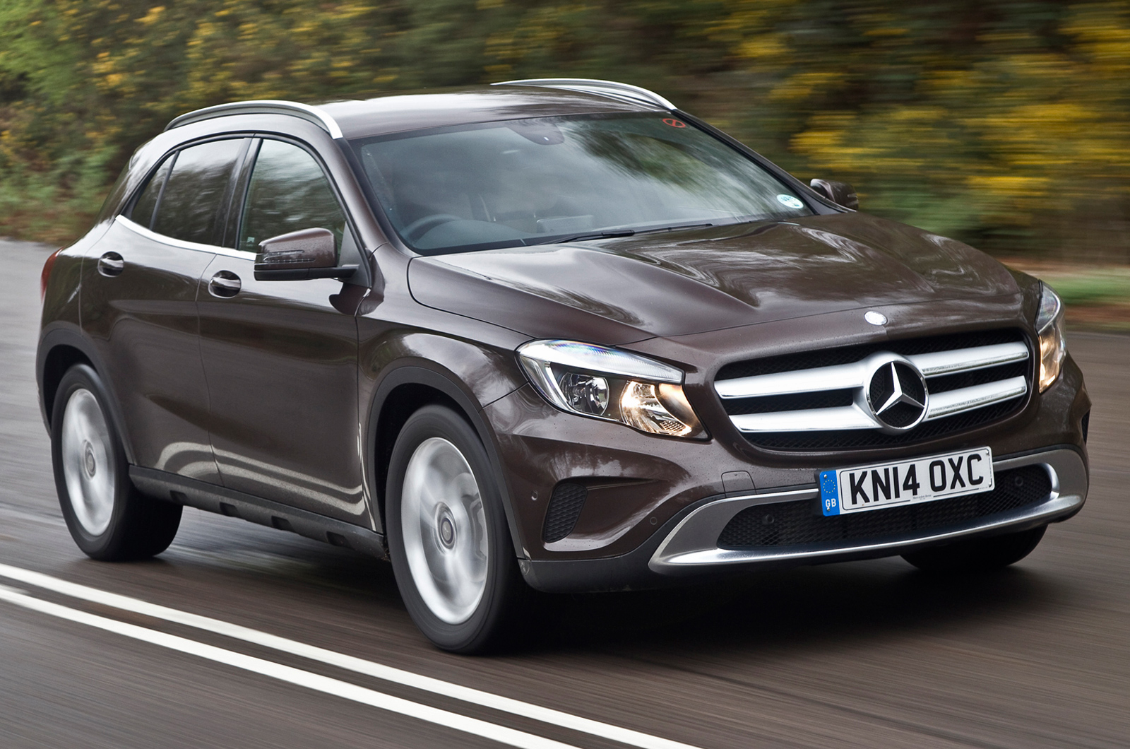 Mercedes benz gla review autocar for Mercedes benz suv gla