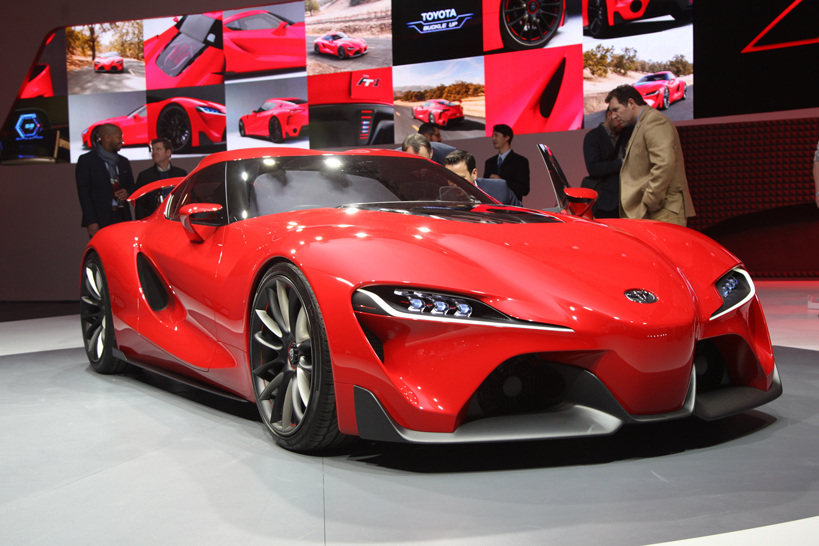 Toyota FT 1 Concept Unveiled In Detroit | Autocar