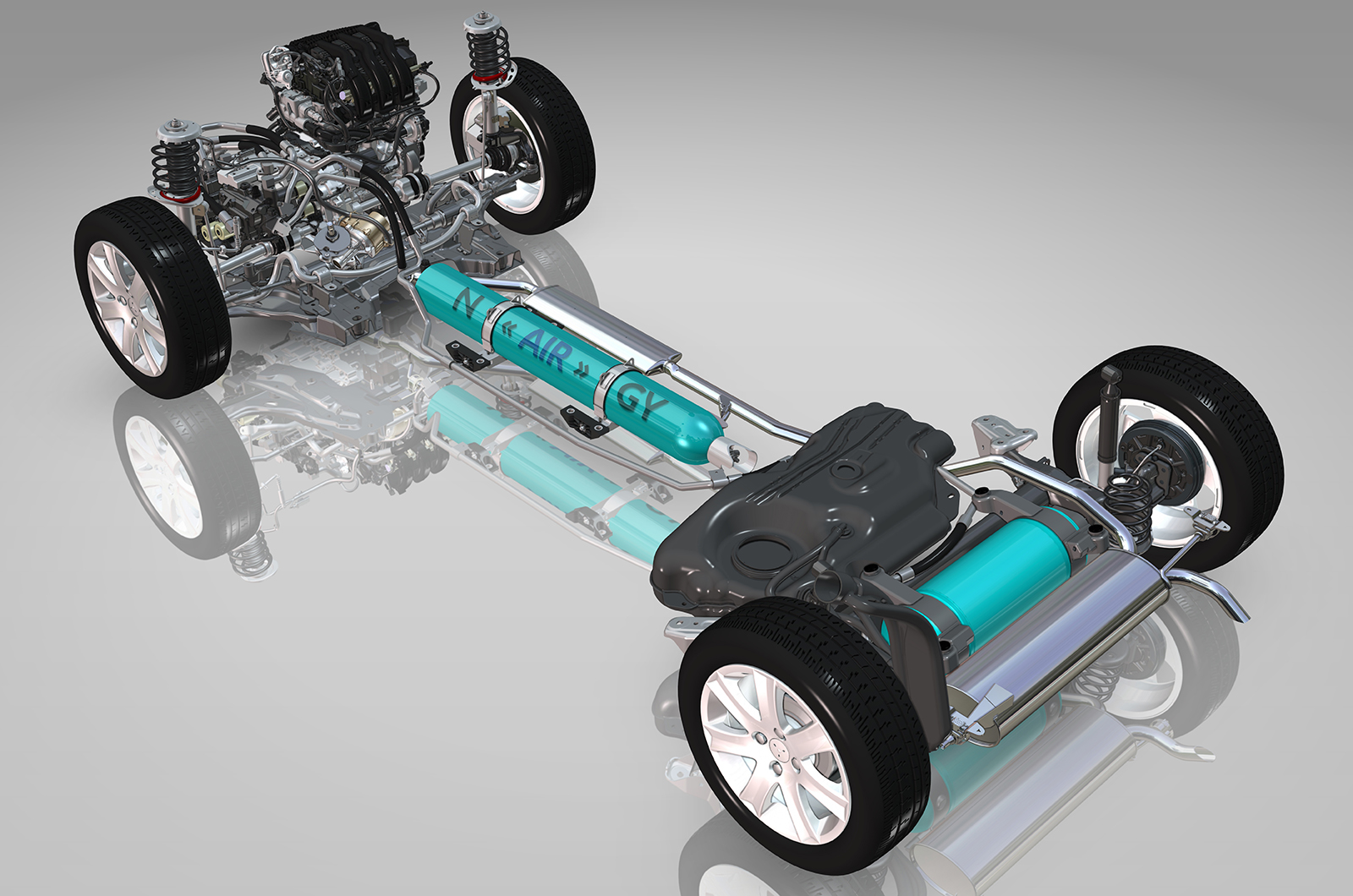 hybrid vehcile A hybrid vehicle has two powertrains, one gasoline and one electric, which work together for maximum efficiency in some situations, the engine can.