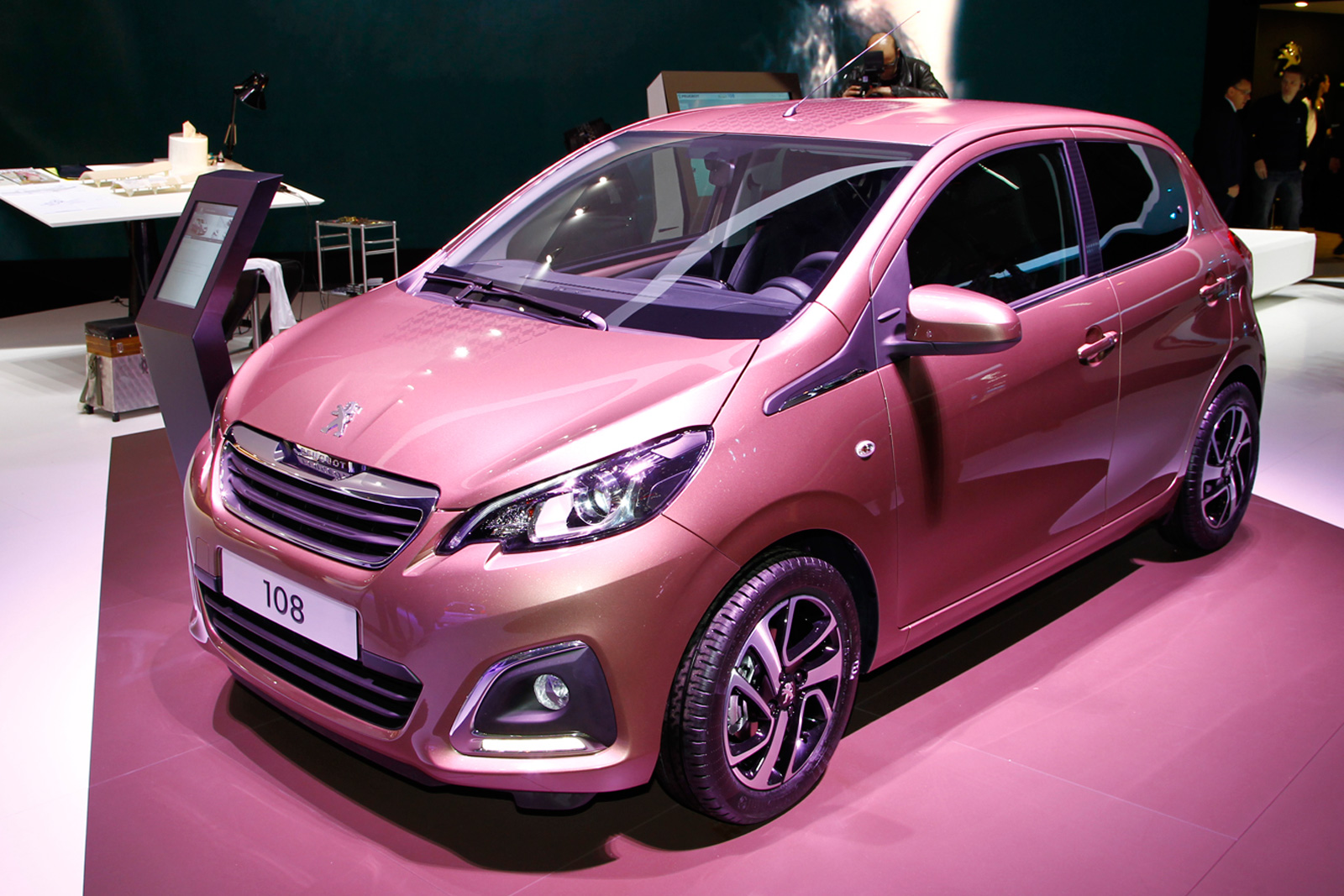 New Peugeot 108 Priced From £8245