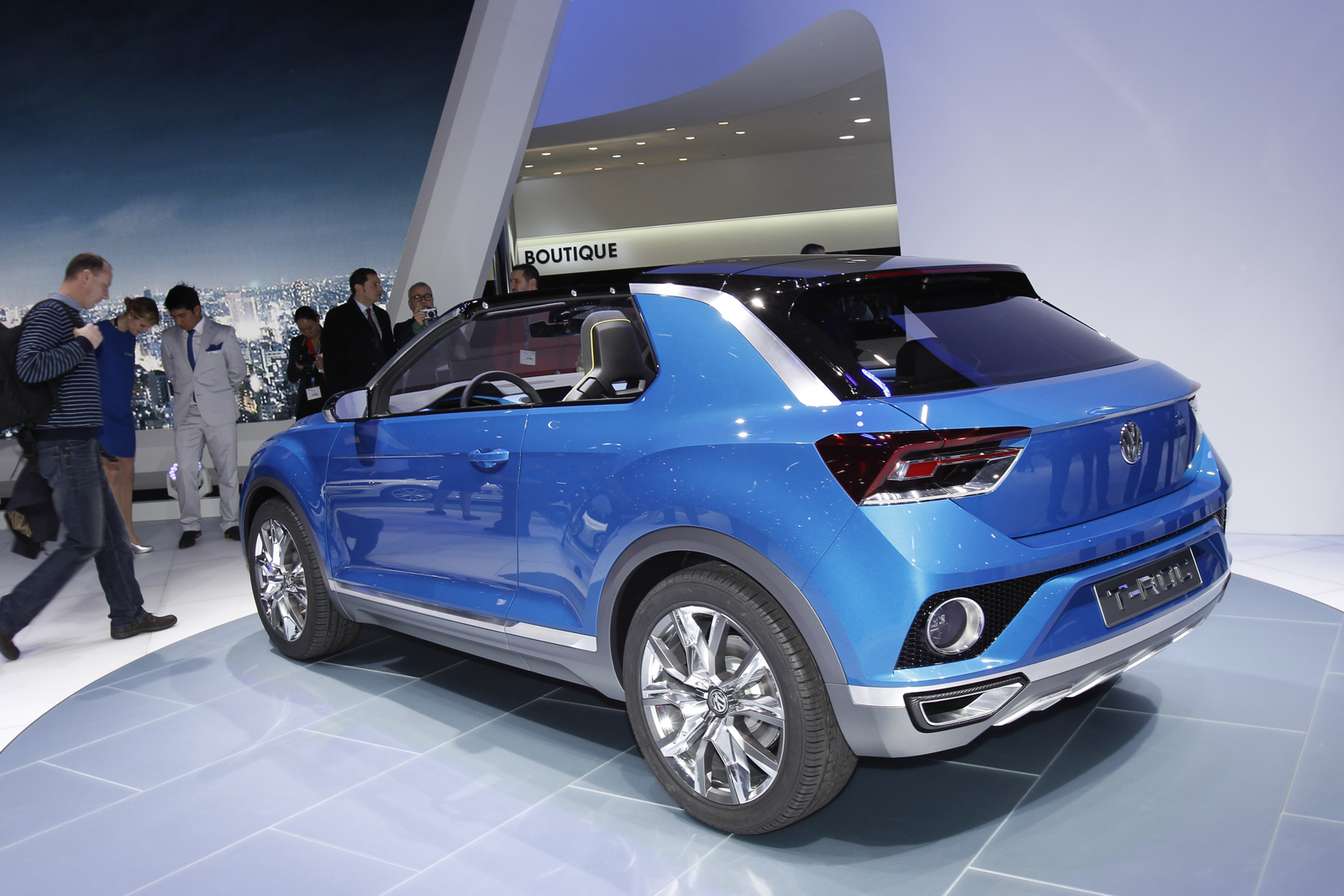 Production Looms For Golf Based Volkswagen T Roc Compact