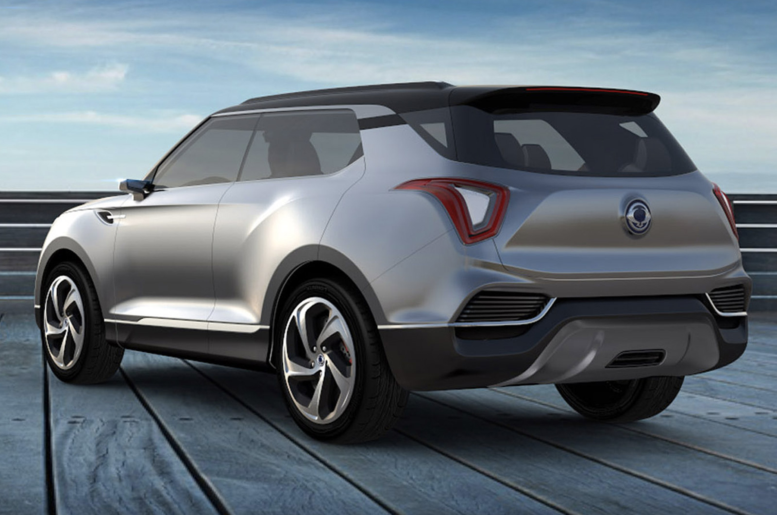 The Ssangyong Xlv Previews The Styling Of The Forthcoming X100 Baby