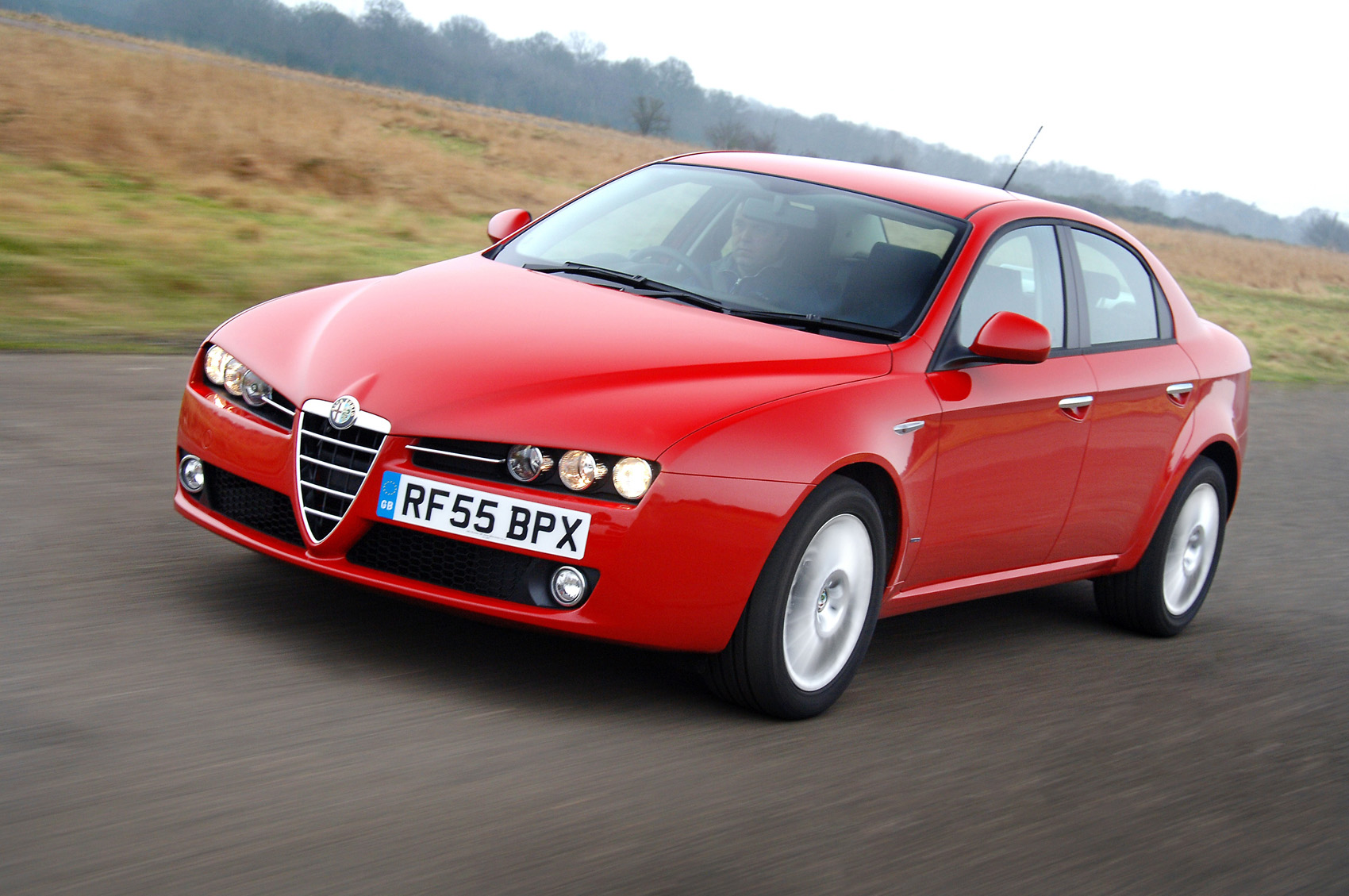 Alfa Romeo 159 2.4 JTD Ti (2007) review by CAR Magazine