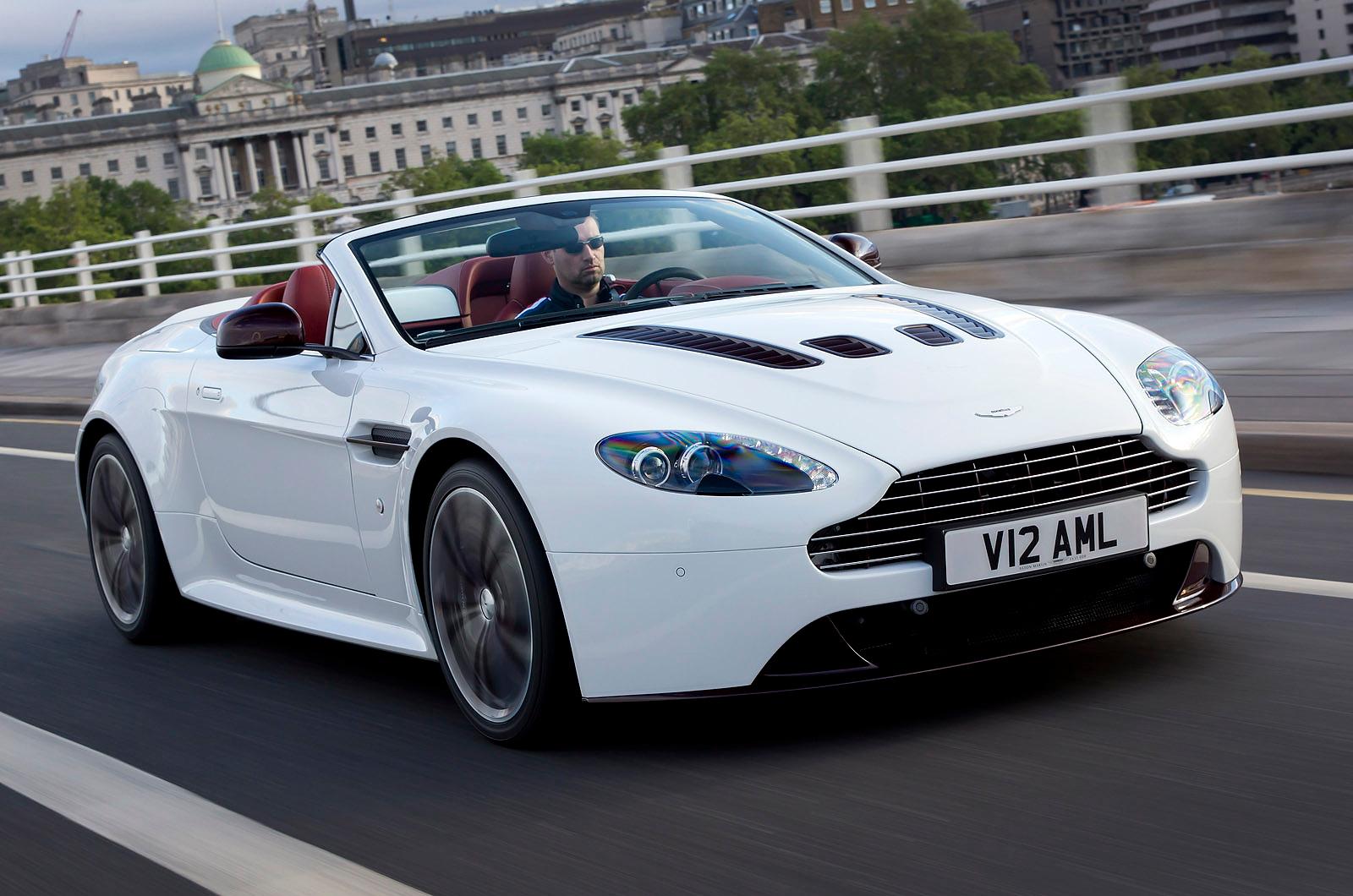 Potent Aston Martin V12 Vantage Roadster Unveiled Autocar