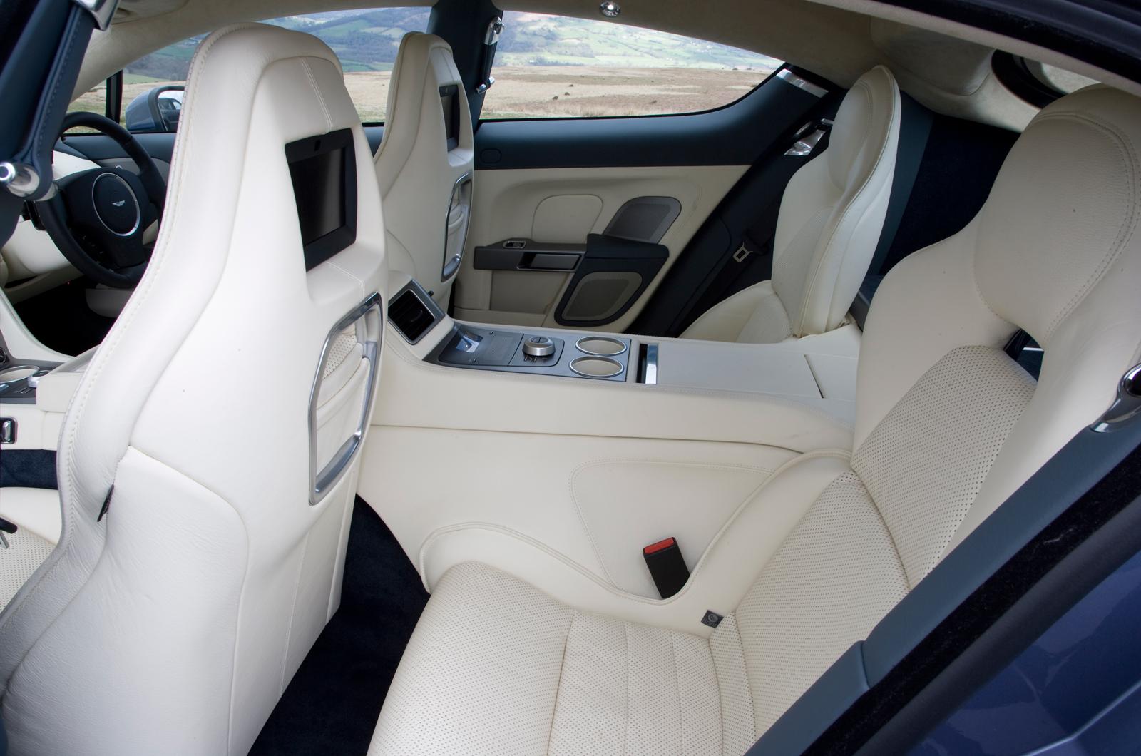 Aston Martin Rapide 2010 2013 Interior Autocar
