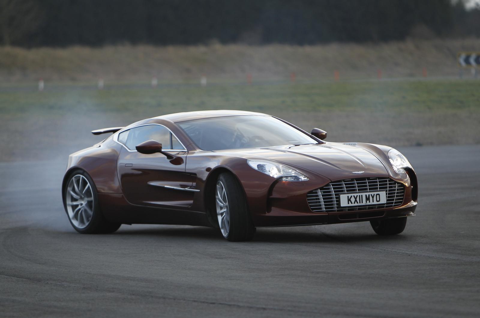 Aston Martin One 77 Riding Shotgun Autocar