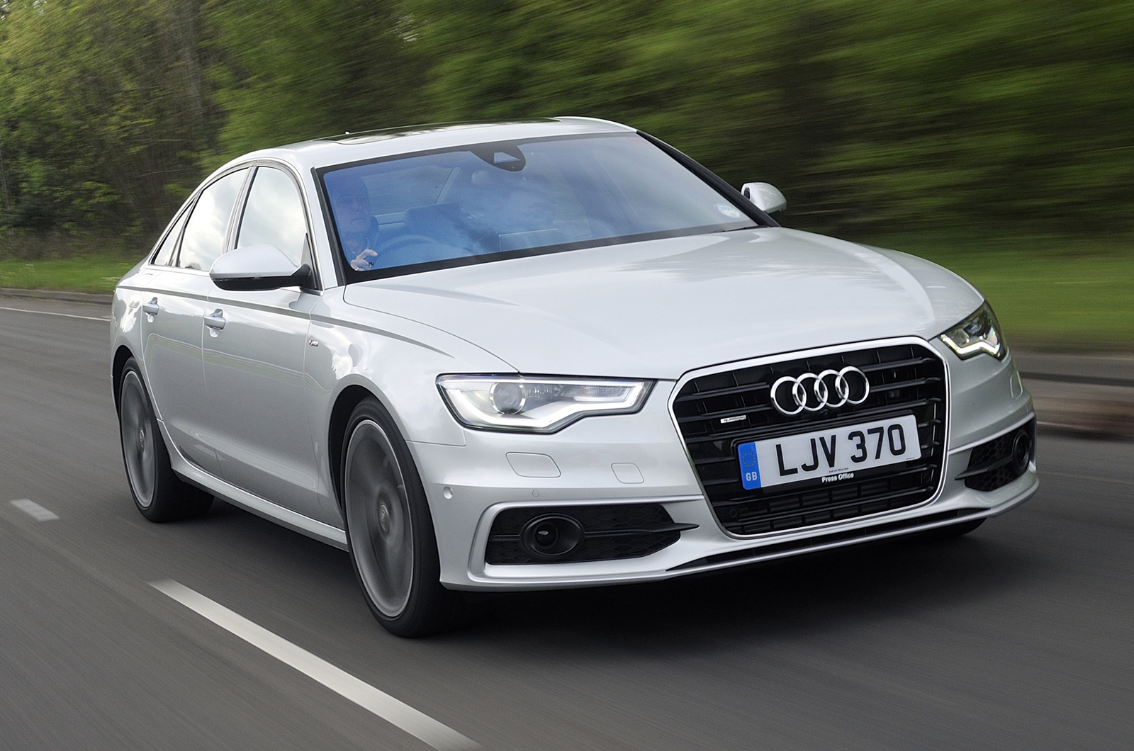 Audi A6 Saloon 20 Tdi Ultra S Tronic S Line First Drive