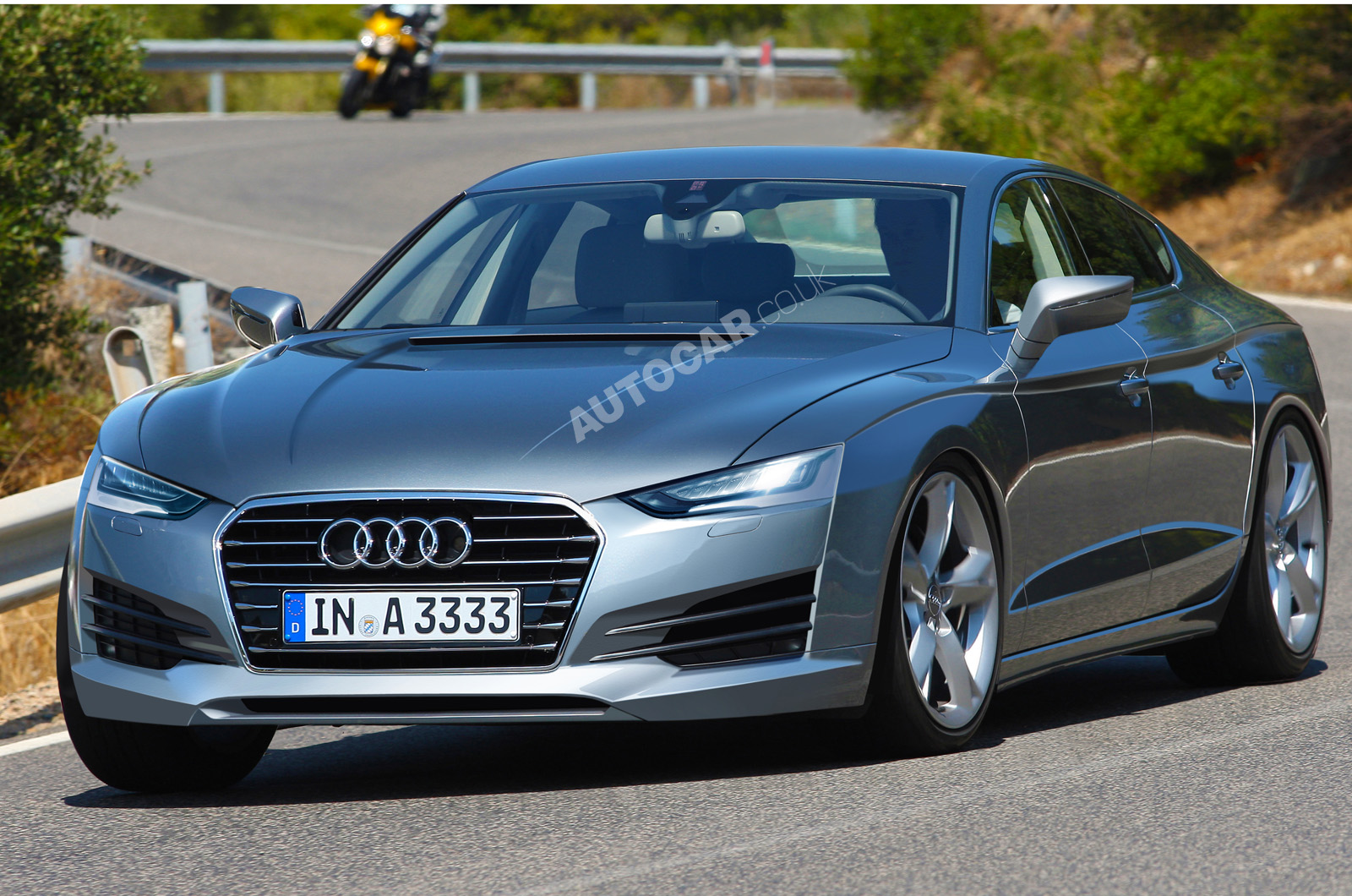 New Audi A9 guns for Panamera | Autocar