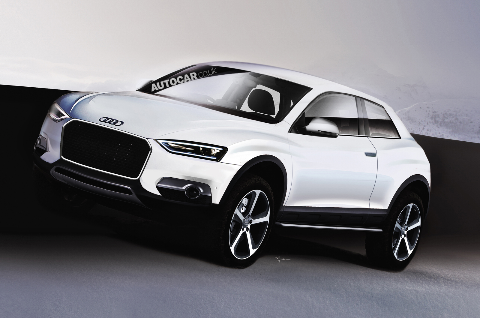 audi q2 suv planned for 2015 autocar. Black Bedroom Furniture Sets. Home Design Ideas