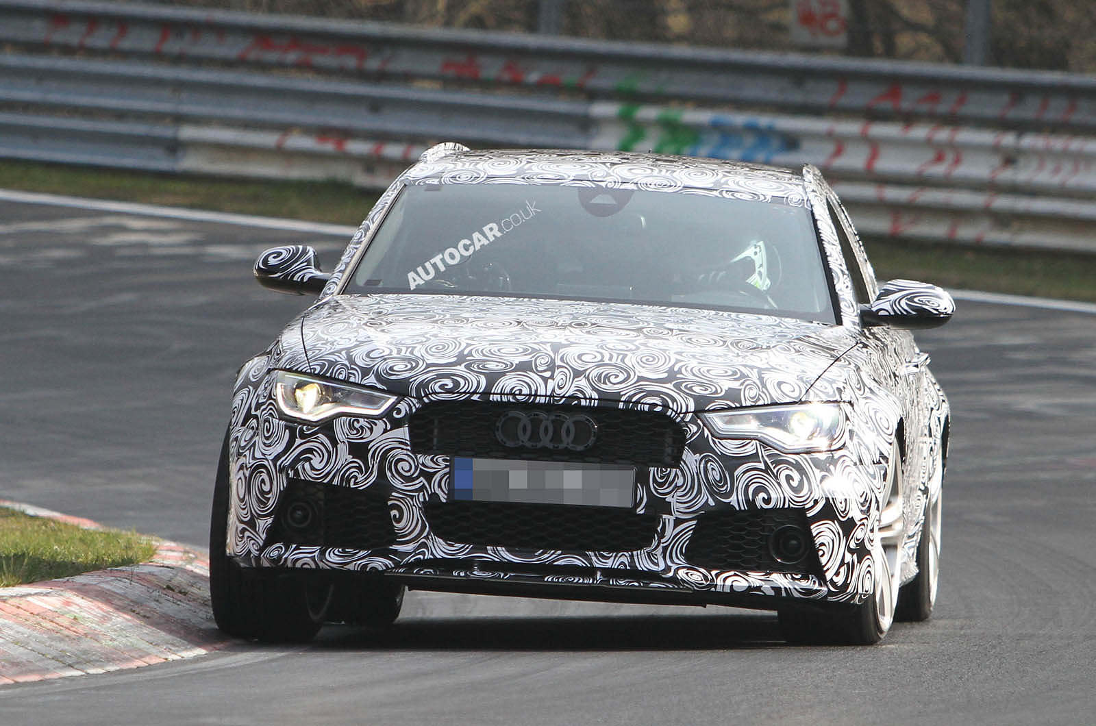 Audi RS6 to take on the BMW M5 and E63 AMG