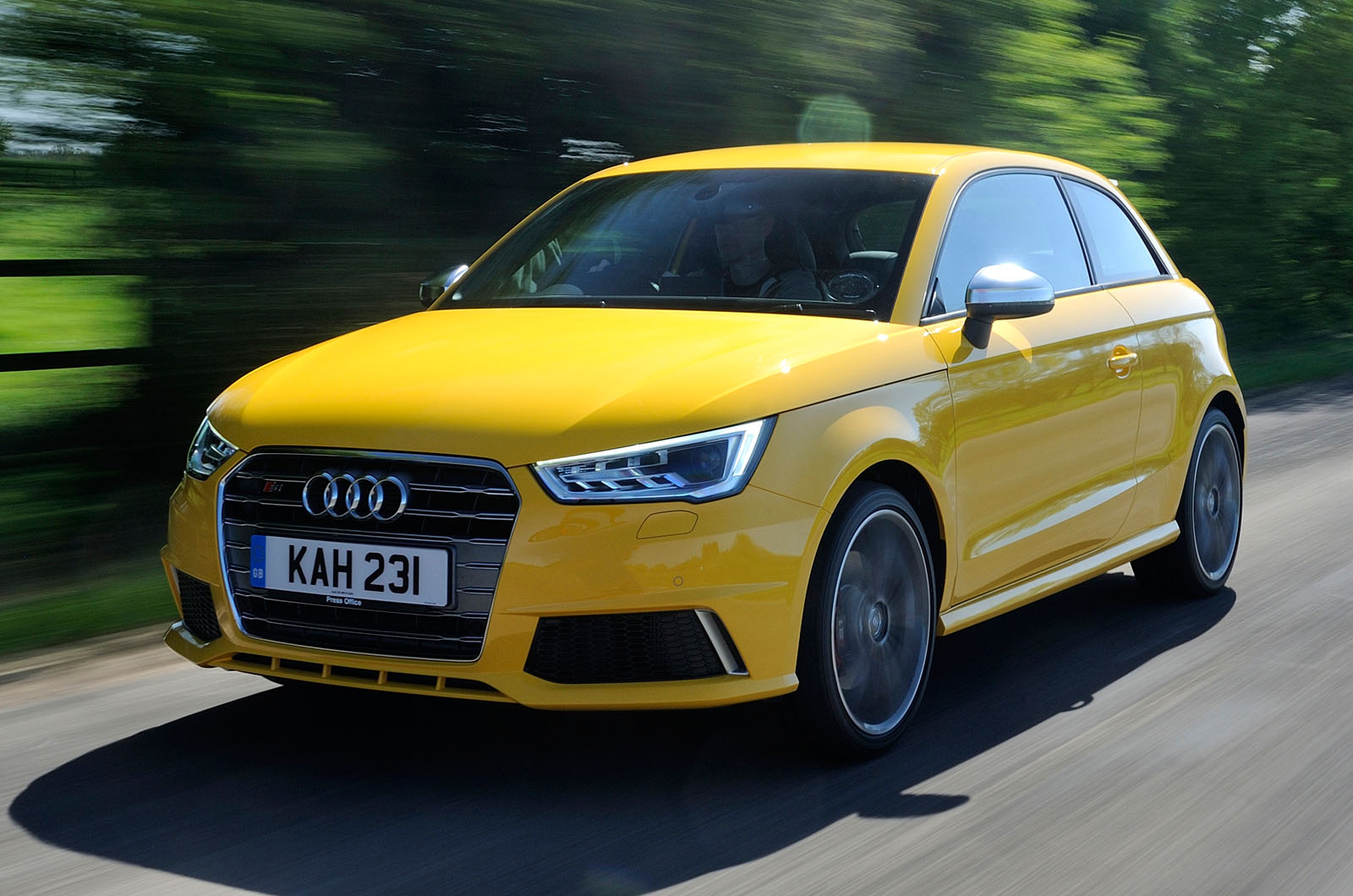 Audi S1 Uk First Drive