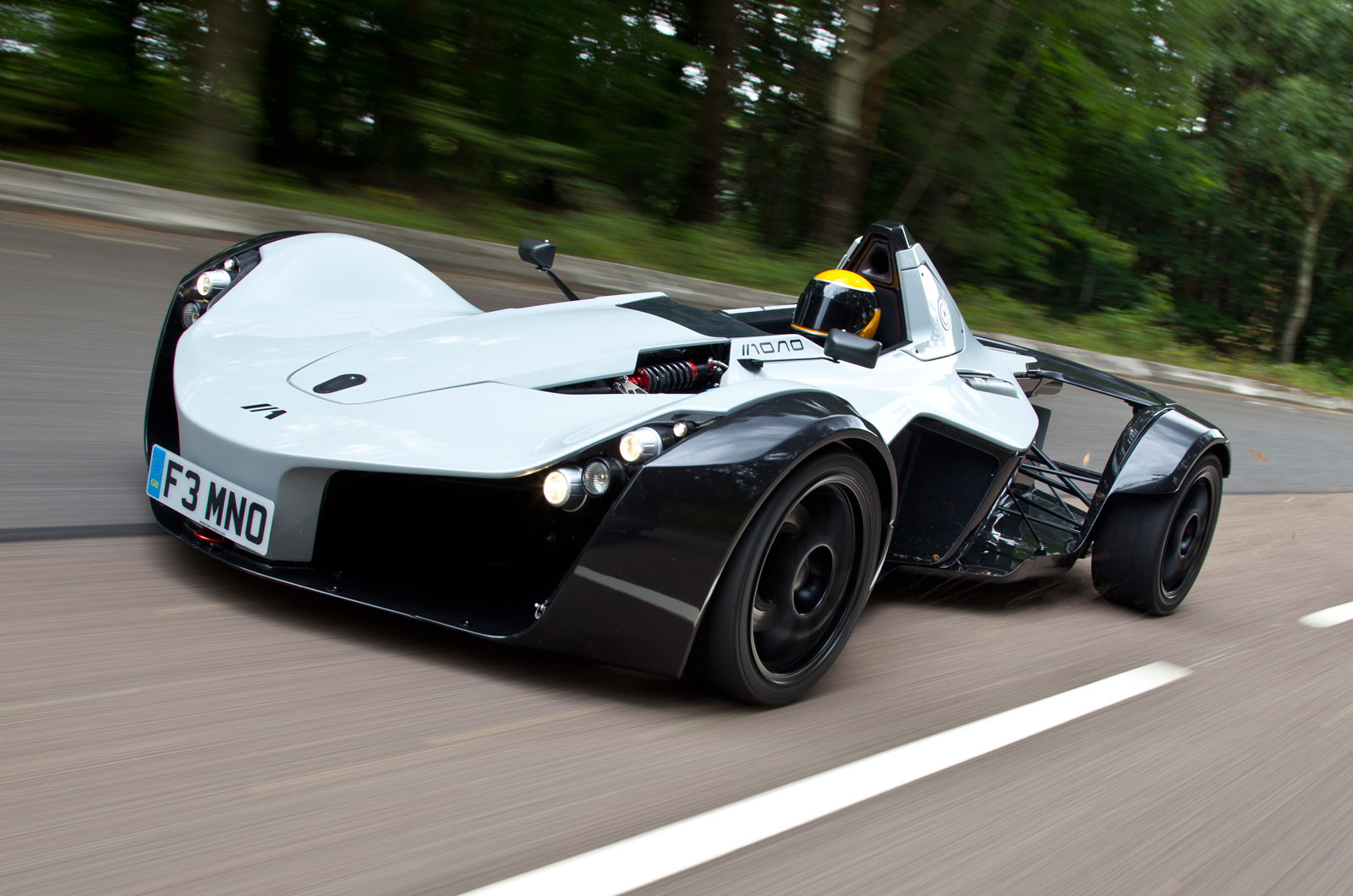 the motoring world the one of a kind mono supercar by briggs automotive company bac will be. Black Bedroom Furniture Sets. Home Design Ideas