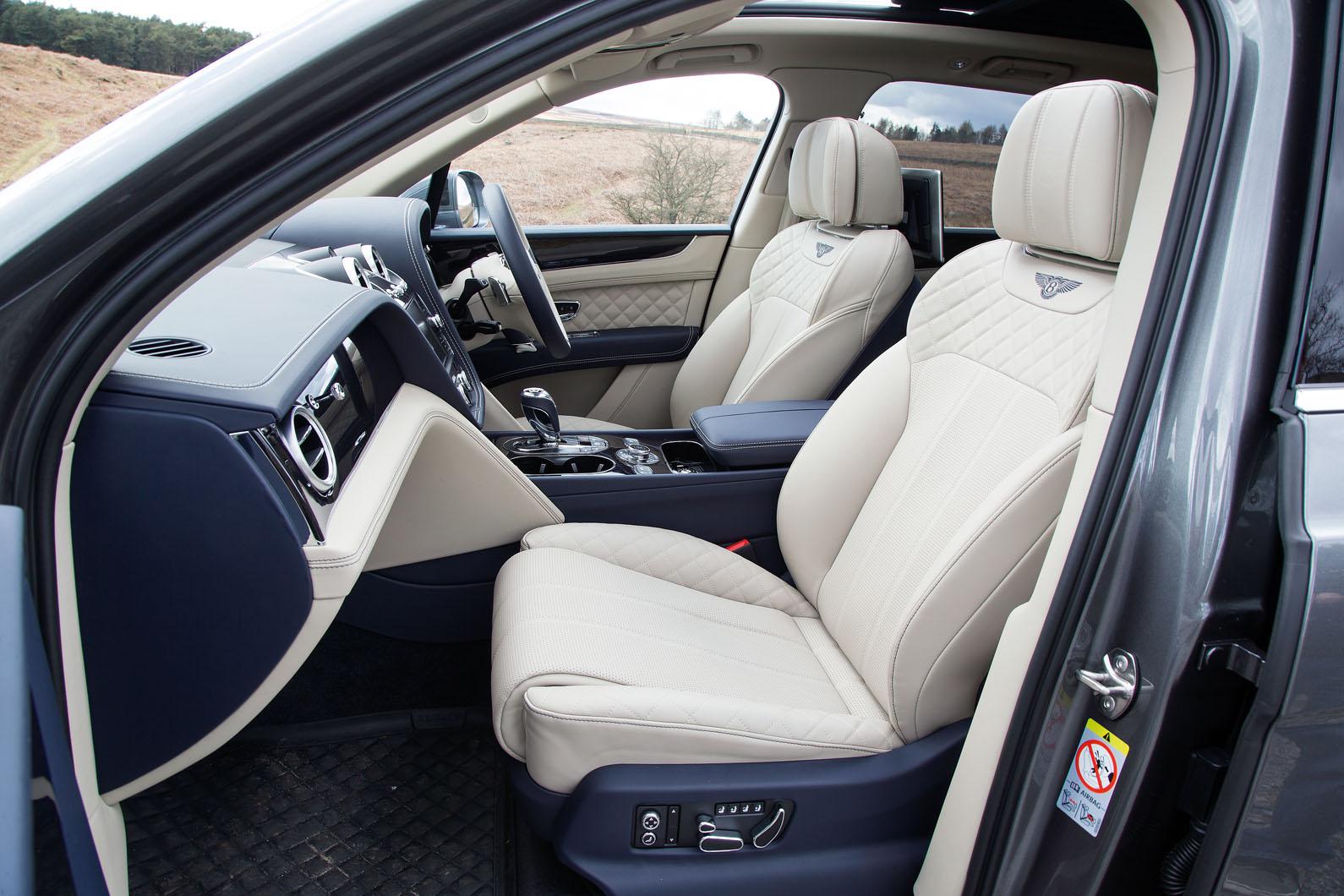Bentley Bentayga Interior Autocar