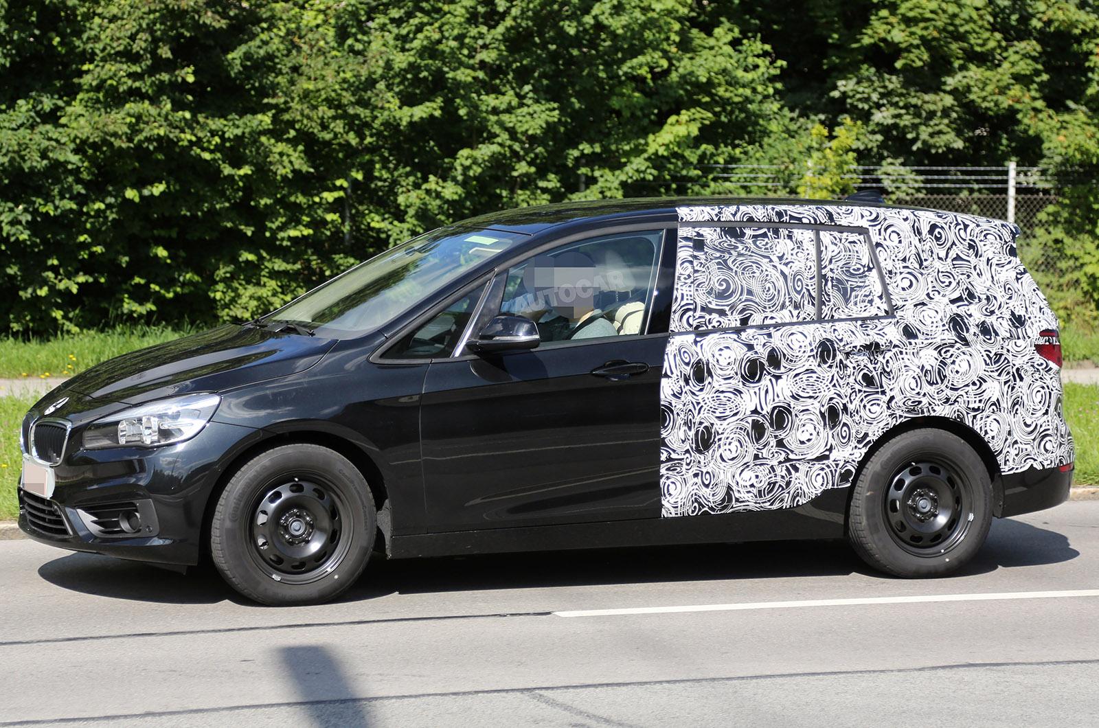 seven seat bmw 2 series active tourer due in 2015 latest pictures autocar. Black Bedroom Furniture Sets. Home Design Ideas