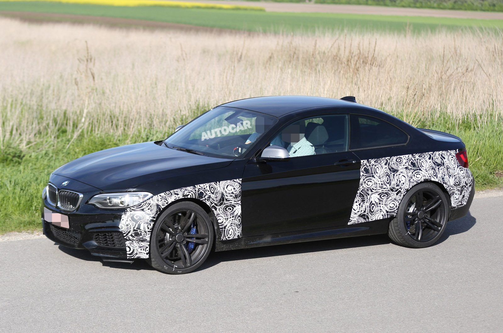 bmw m2 coupe spotted testing for the first time autocar. Black Bedroom Furniture Sets. Home Design Ideas