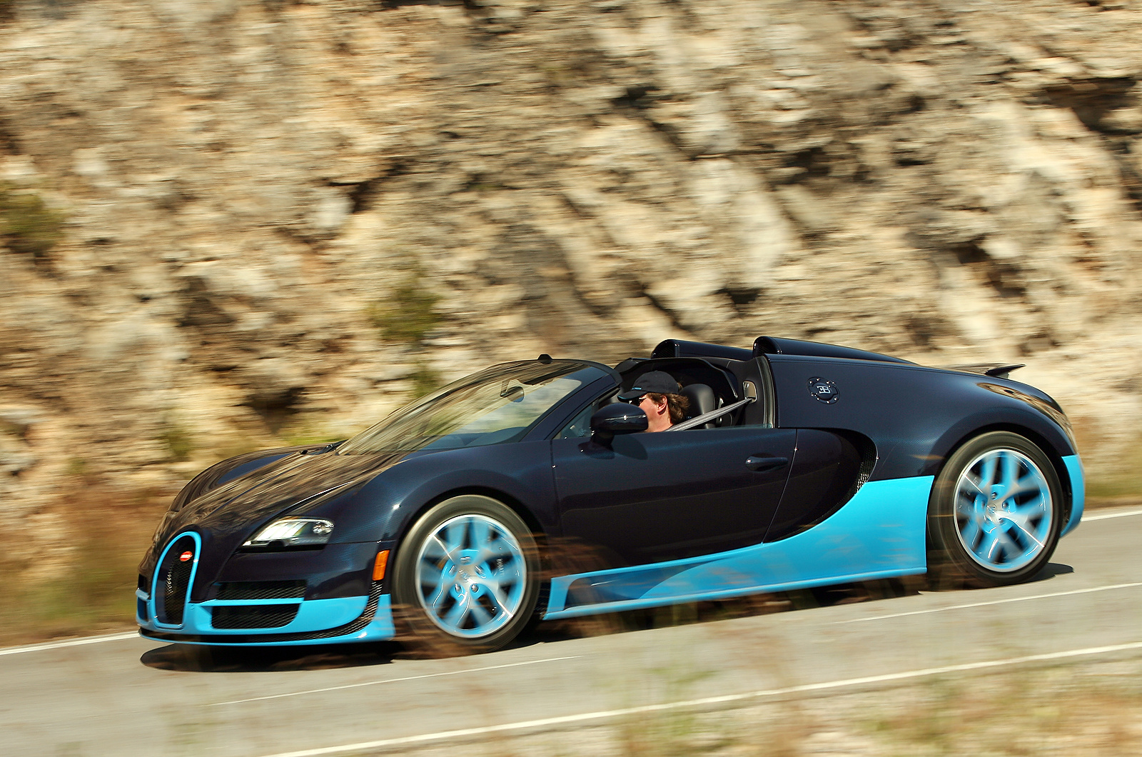 first drive review bugatti veyron vitesse autocar. Black Bedroom Furniture Sets. Home Design Ideas