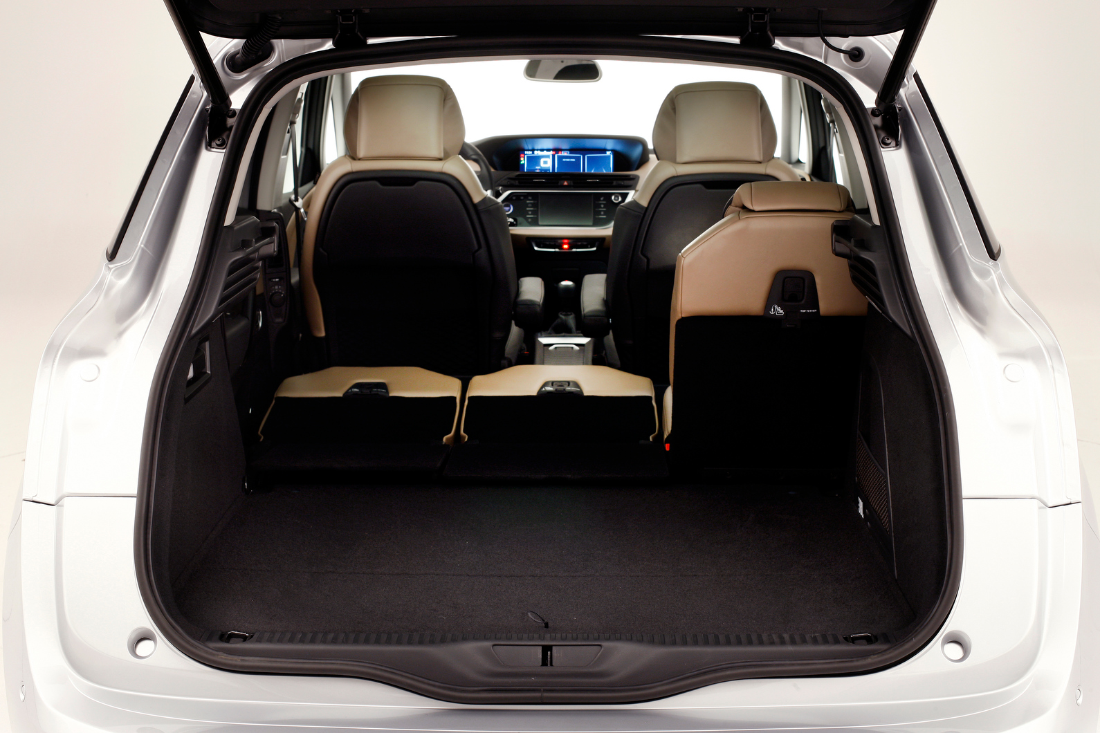 spied 2013 citroen c4 picasso page 2. Black Bedroom Furniture Sets. Home Design Ideas