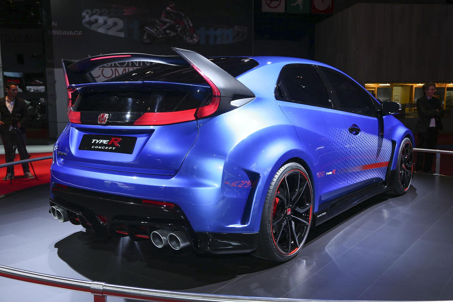 New Honda Civic Type R concept unveiled   Autocar