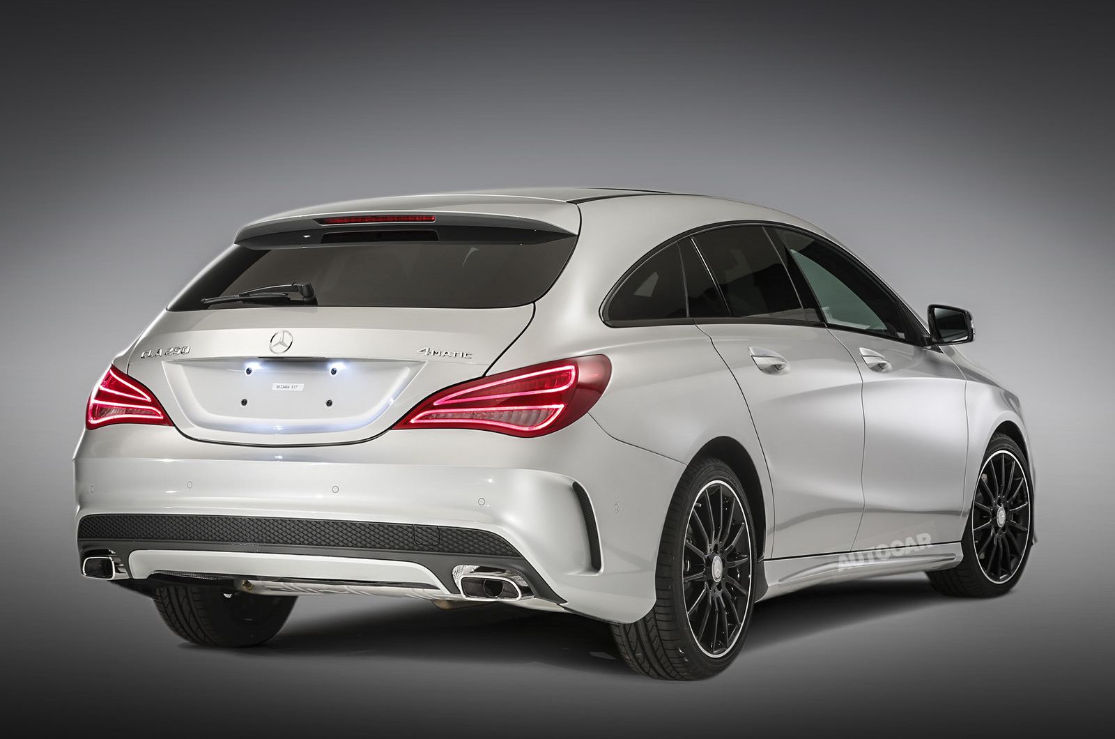 mercedes benz cla shooting brake revealed autocar. Black Bedroom Furniture Sets. Home Design Ideas