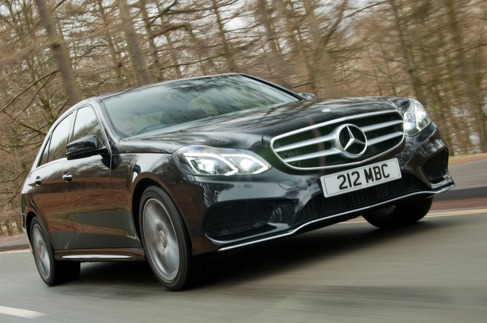 Refinement levels depend very much on how you drive the e for How much is a mercedes benz e class