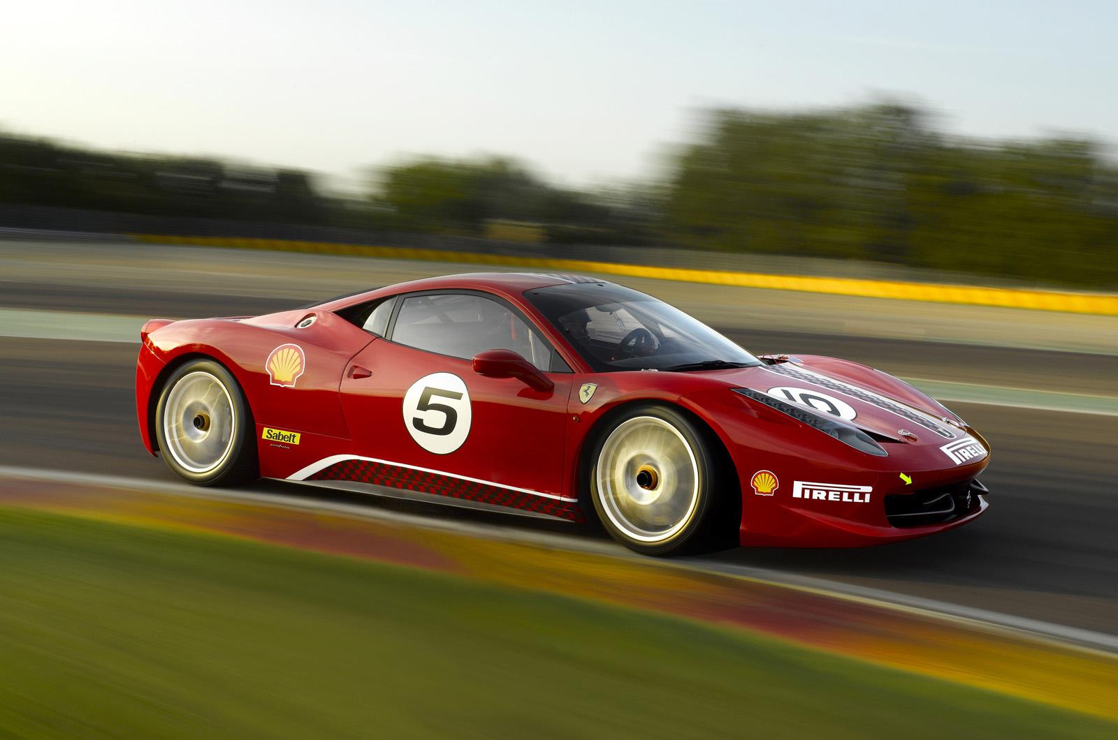Ferrari 458 Challenge New Pics Autocar