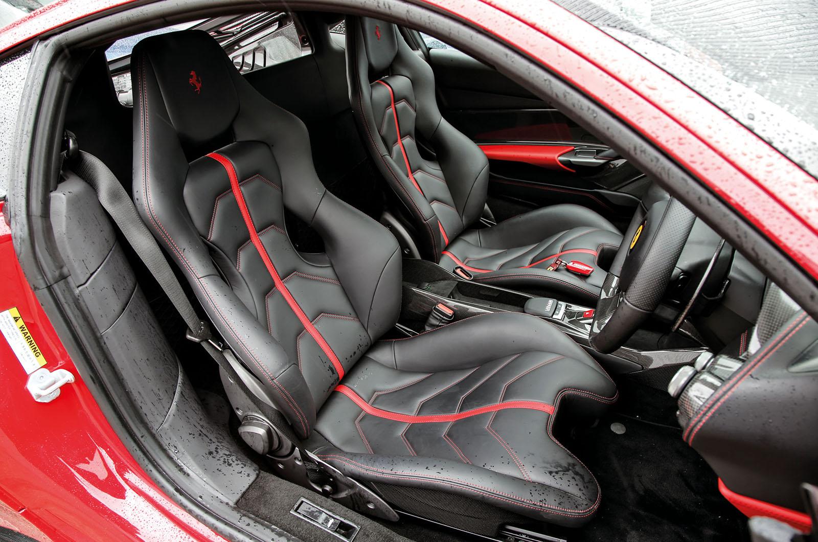 Ferrari 488 Gtb Interior Autocar