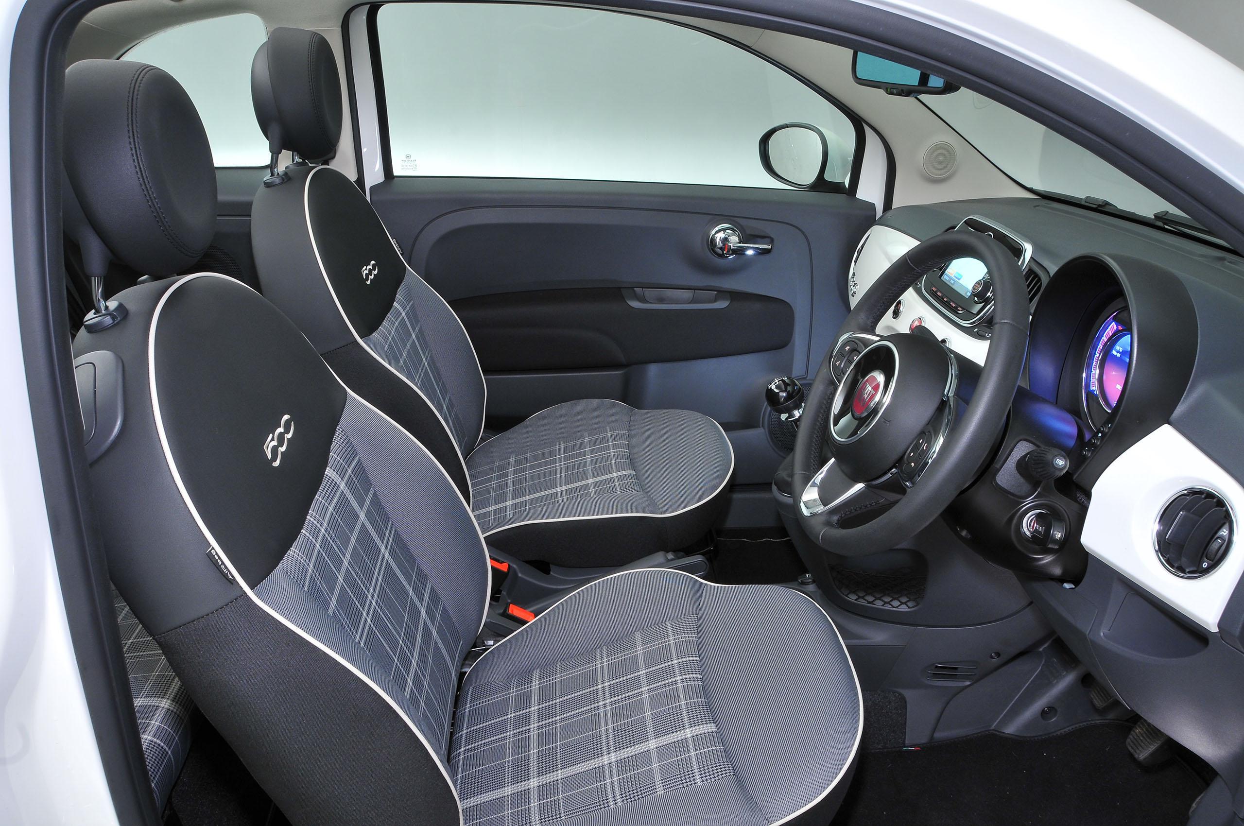 Fiat 500c Interior Autocar
